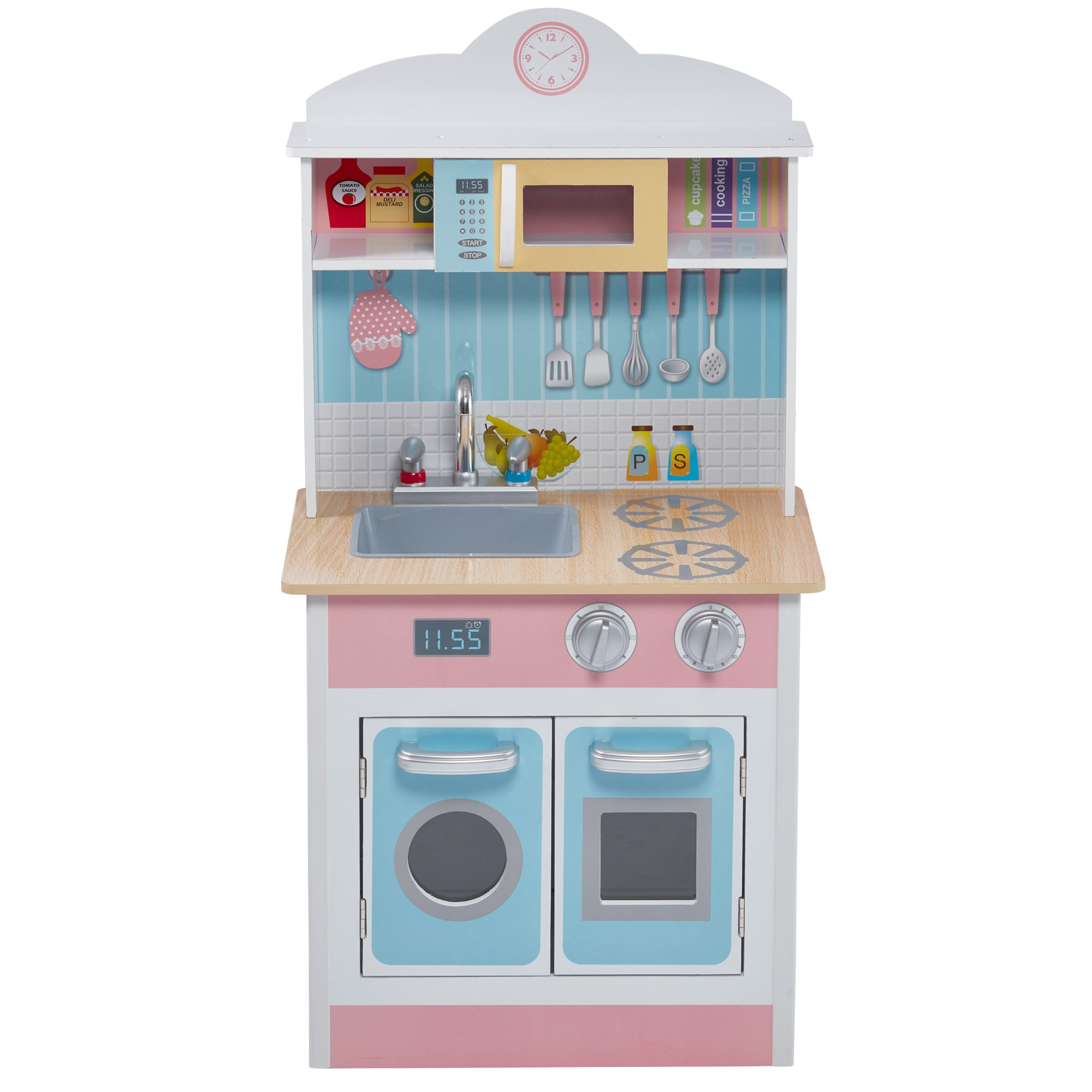 Shop Teamson Kids Pastel Little Chef Play Kitchen - Free Shipping ...