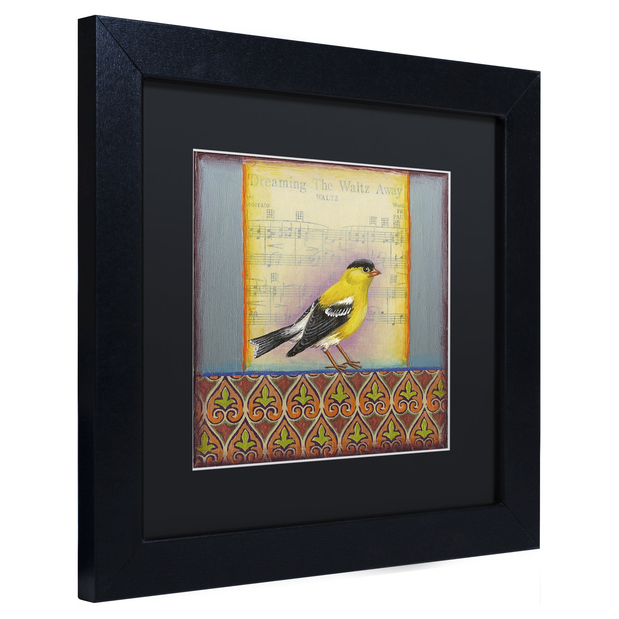 Rachel Paxton \'Small Bird 220\' Matted Framed Art - Free Shipping On ...