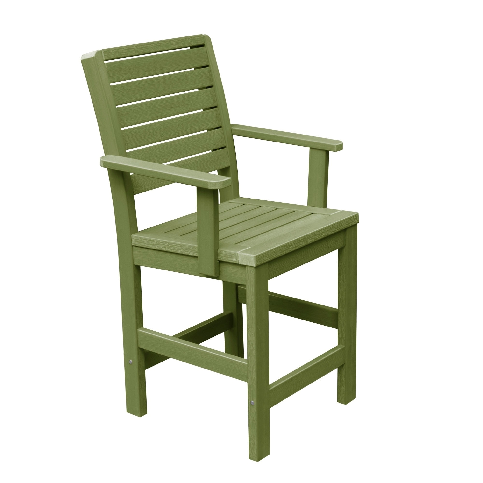 Superbe Highwood Eco Friendly Weatherly Counter Height Armchair   Free Shipping  Today   Overstock   19686097