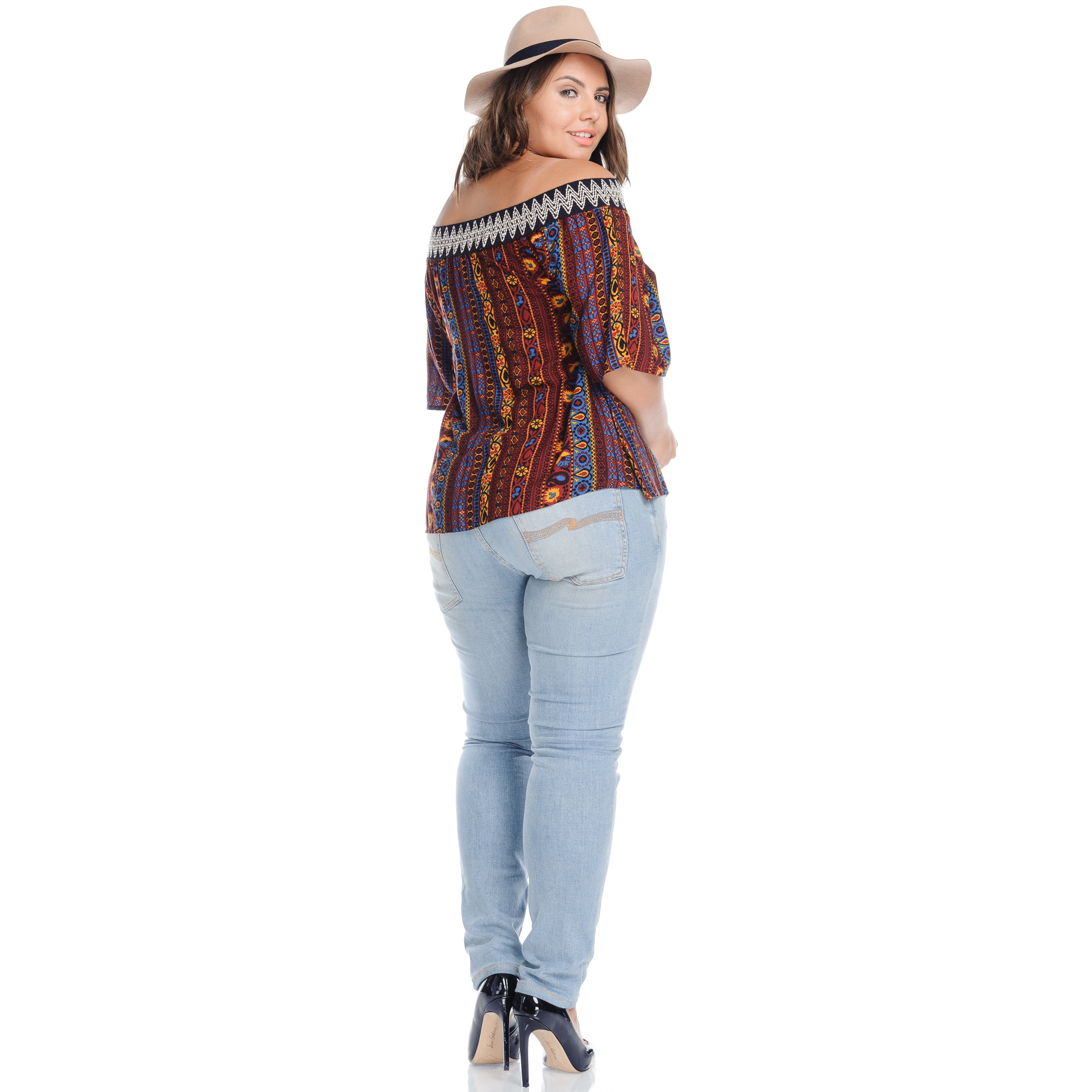 Plus Size Boho Tops For Women