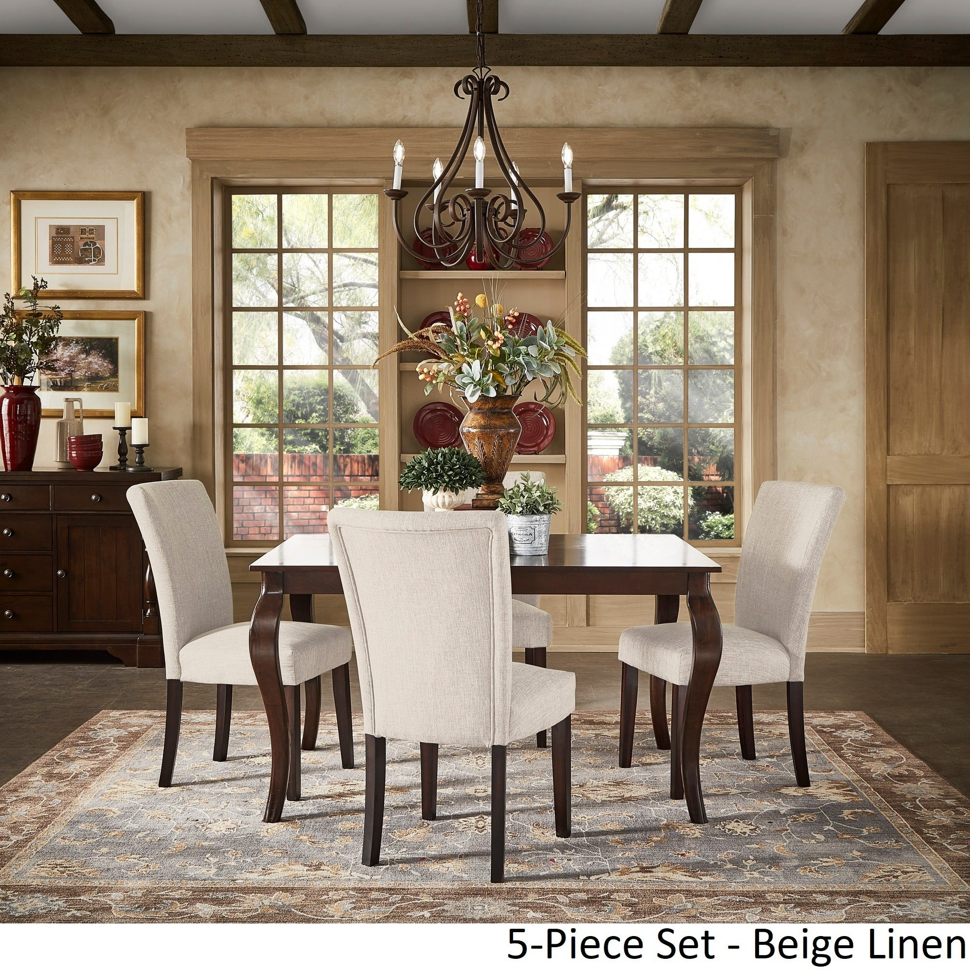 Ordinaire Shop Pranzo Rectangular 72 Inch Extending Dining Table And Set With  Cabriole Legs By INSPIRE Q Classic   On Sale   Free Shipping Today    Overstock.com   ...