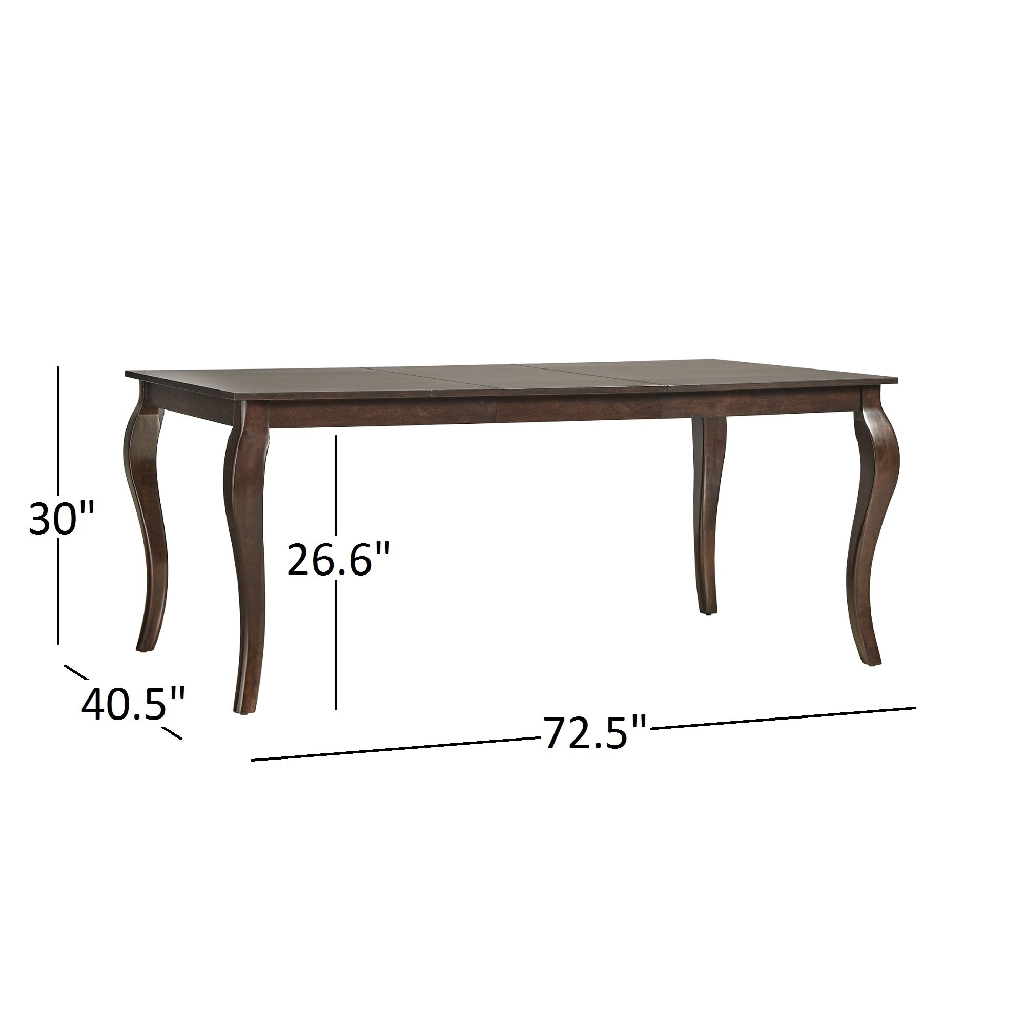 Delicieux Shop Pranzo Rectangular 72 Inch Extending Dining Table And Set With  Cabriole Legs By INSPIRE Q Classic   Free Shipping Today   Overstock.com    12949913