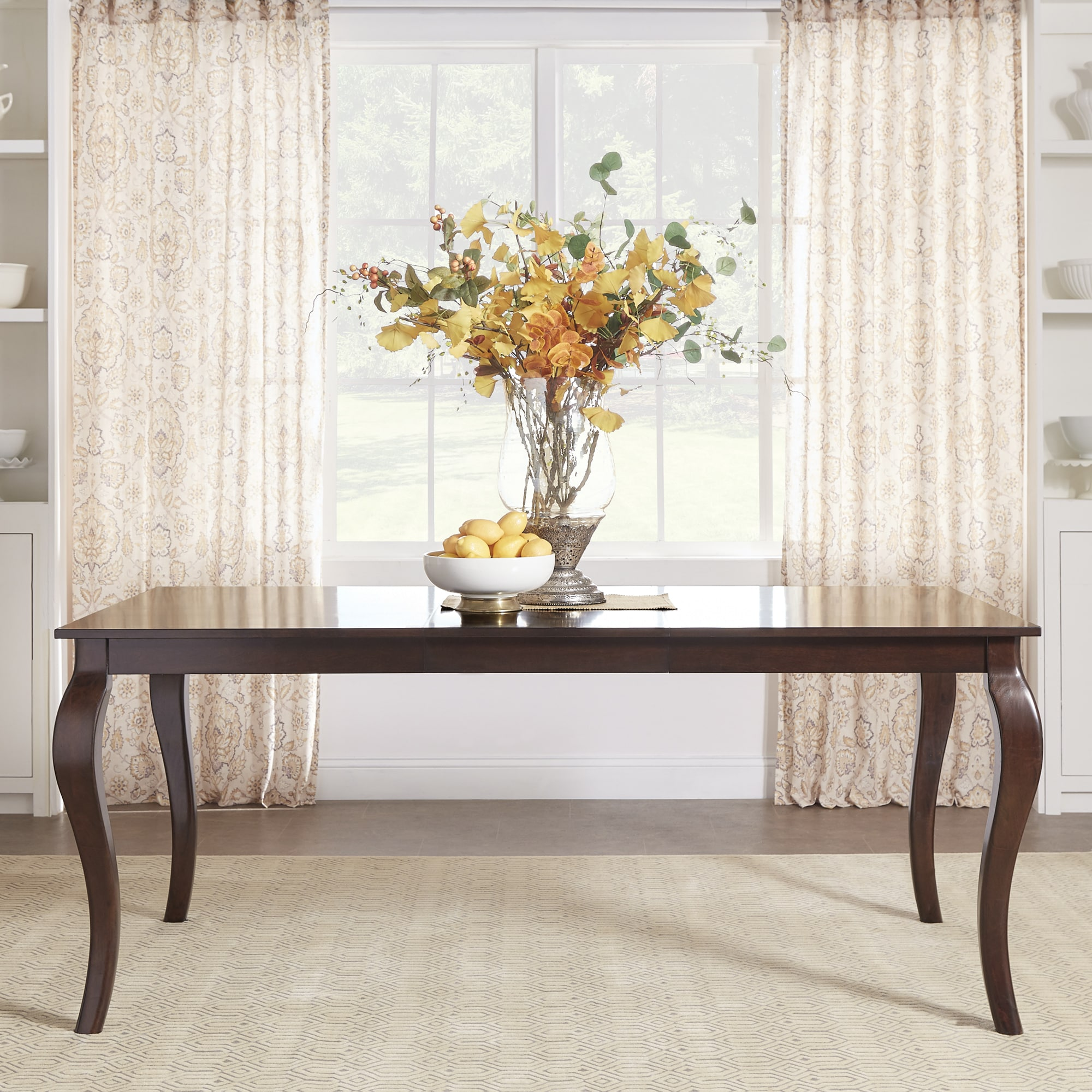 Pranzo Rectangular 72-inch Extending Dining Table and Set with Cabriole Legs  by iNSPIRE Q Classic - Free Shipping Today - Overstock.com - 19700515