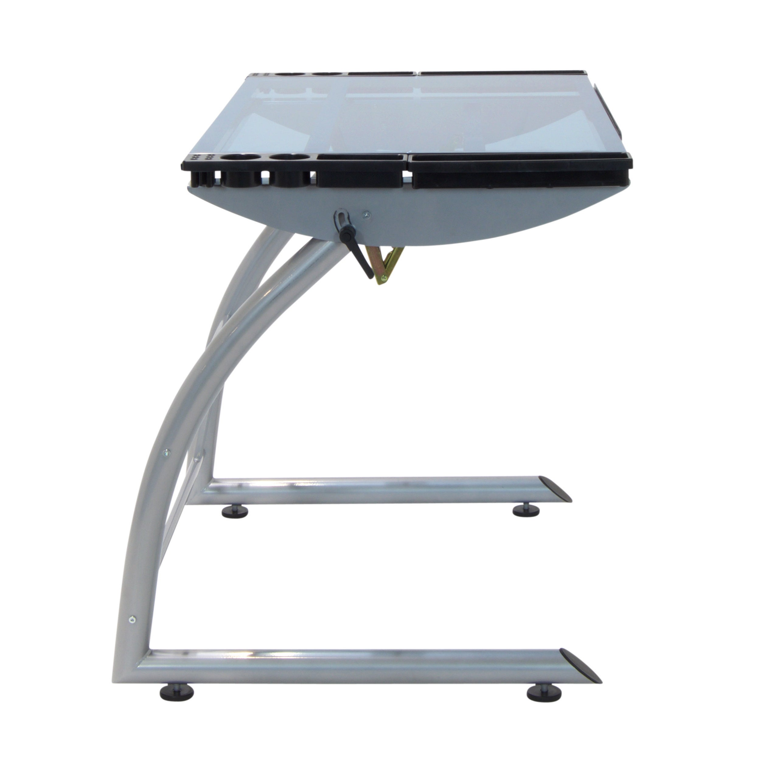 vision studio with mp on glass top designs drawing center utrecht discount at drafting tiltable more table save stool