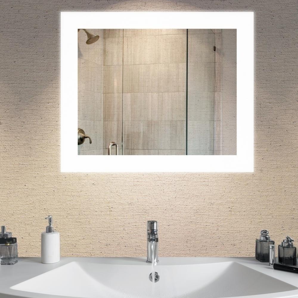 Shop Dyconn Faucet Royal Wall-mounted Vanity Bathroom LED Backlit ...