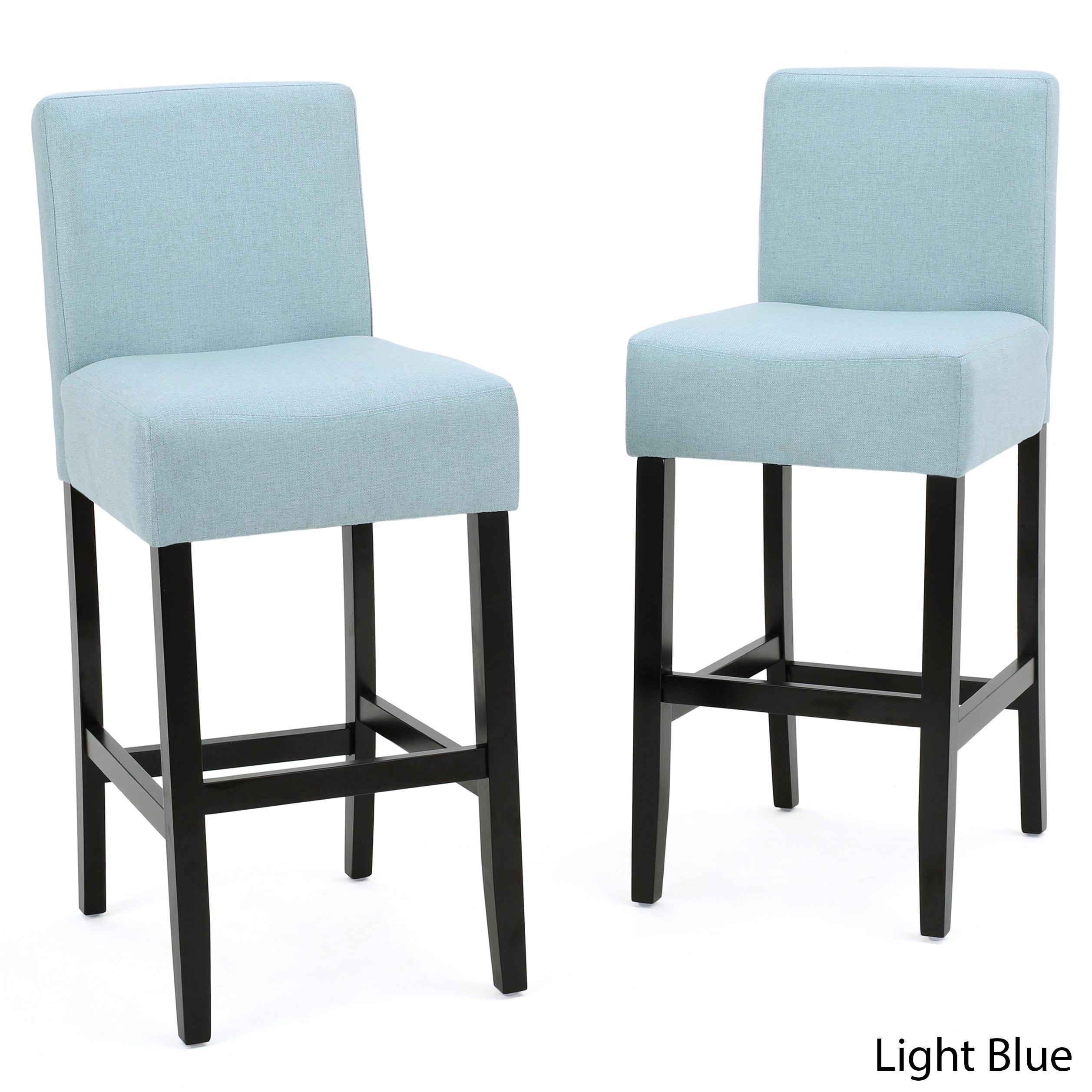 Lopez 26-inch Fabric Counter Stool (Set of 2) by Christopher Knight ...