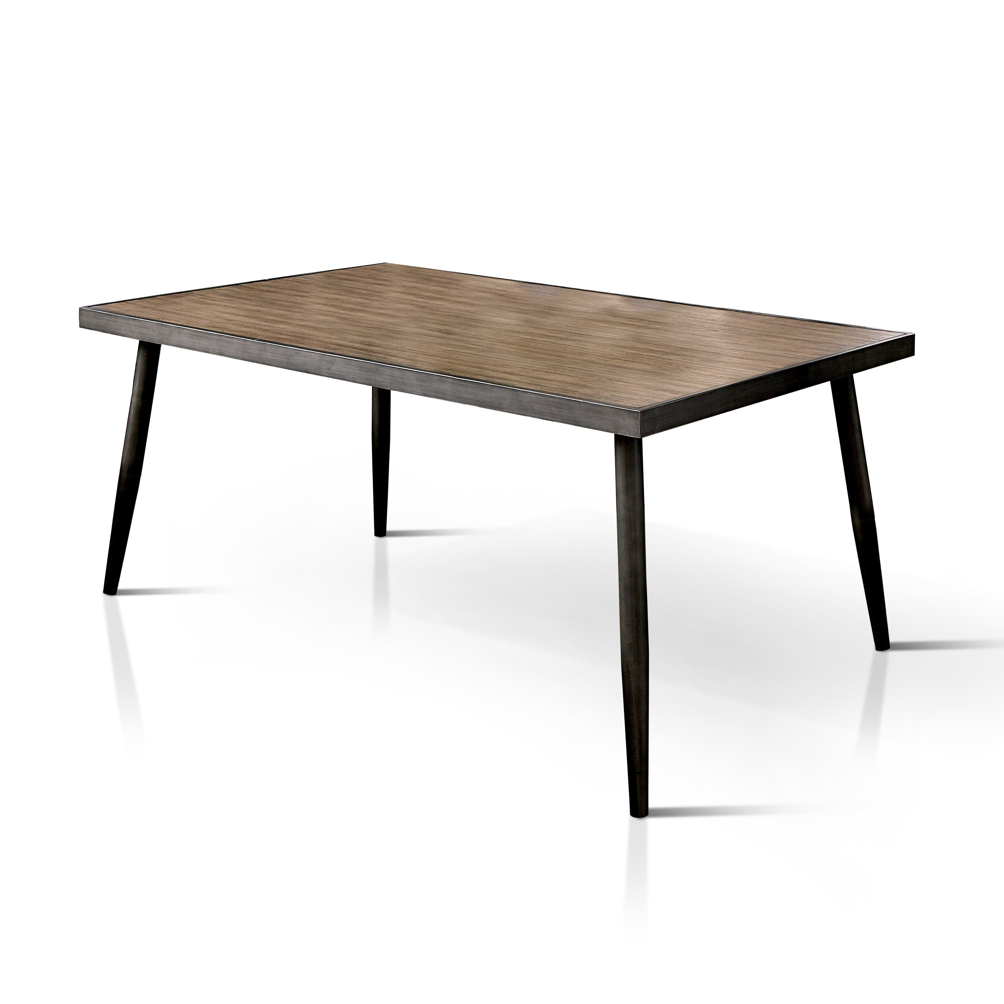 mid century industrial furniture. Furniture Of America Bradensbrook Mid-Century Modern Industrial Style Metal 64-inch Dining Table - Free Shipping Today Overstock 19731207 Mid Century I