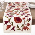Autumn Embroidered Table Runner