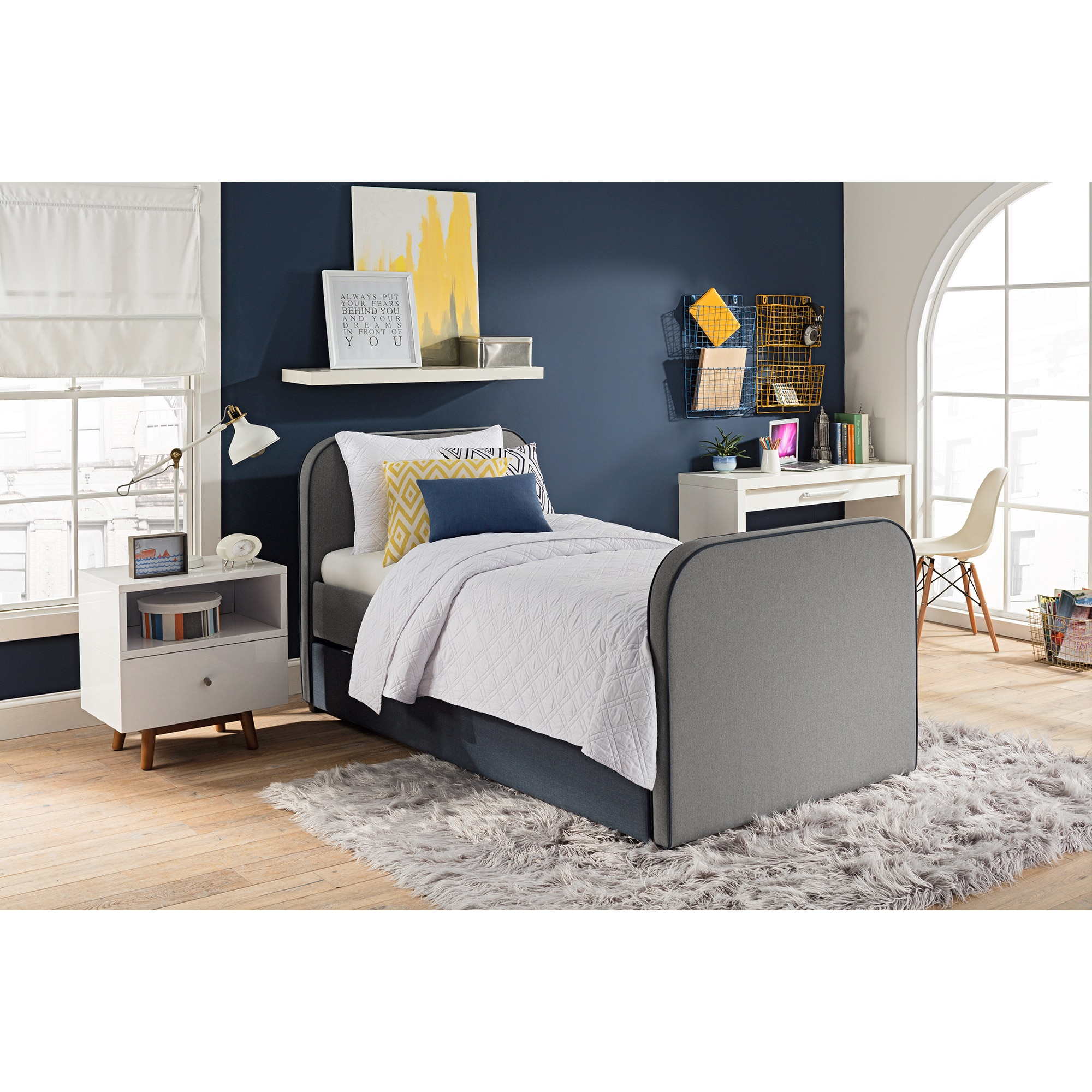 and storage design drawer signature ashley trinell twin beds collections loft yhf by furniture item trundle with bed wayside stairs