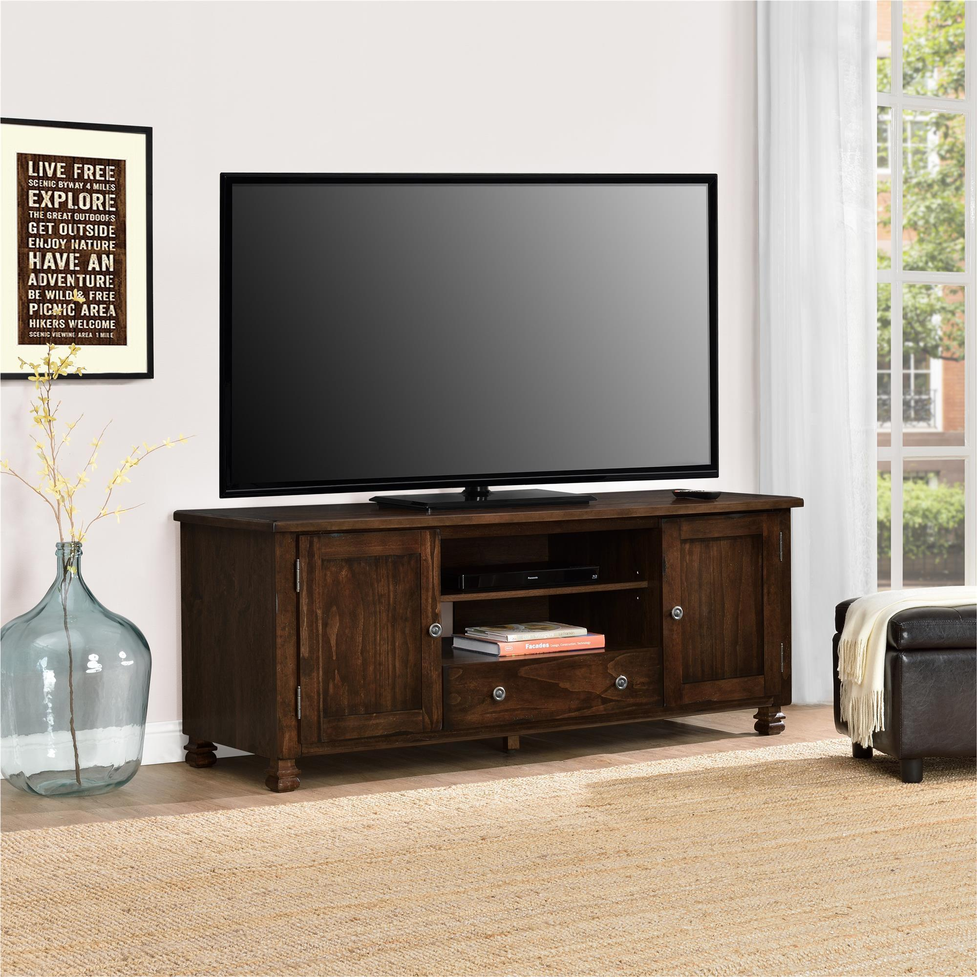 Ameriwood Home San Antonio Wood Veneer TV Stand Free Shipping