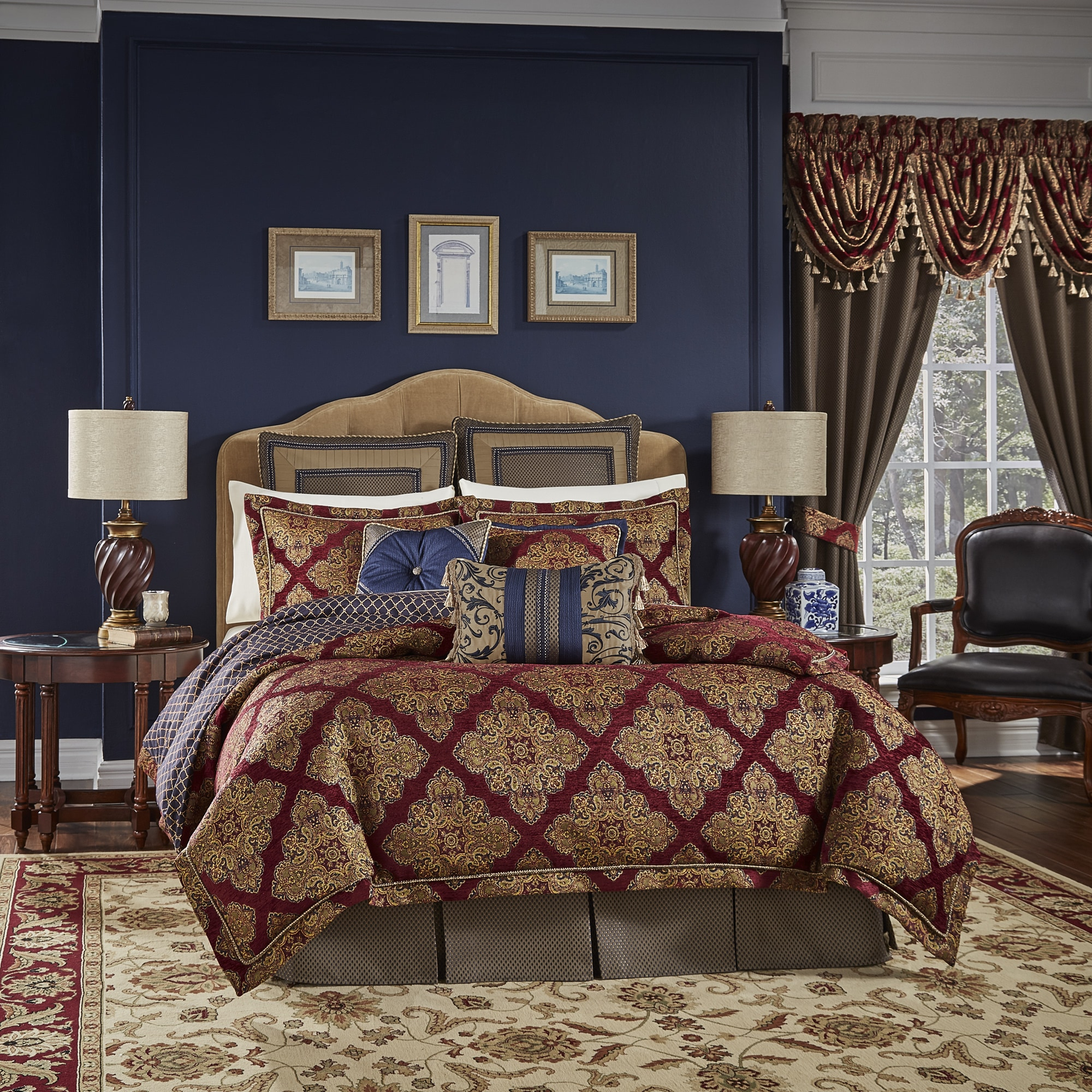 hei product for classics upc set pc wid luxembourg jacquard image croscill comforter sharpen op sets