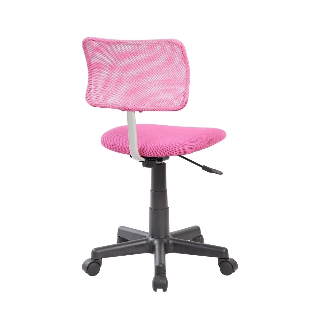 Shop adjustable pink mesh kids desk chair on sale free shipping today overstock com 13001097