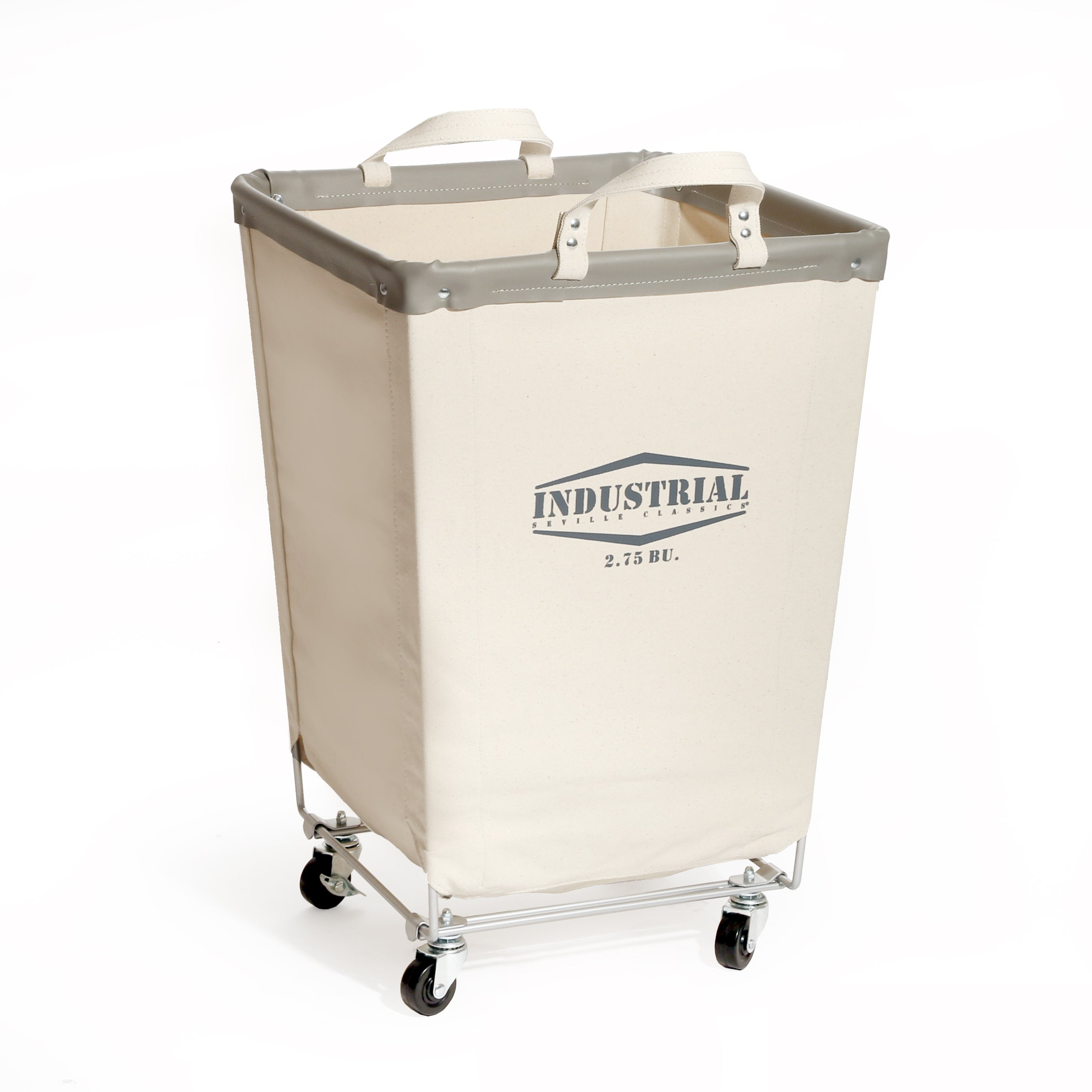 Seville Clics Commercial Heavy Duty Canvas Laundry Hamper With Wheels Free Shipping Today 13001637