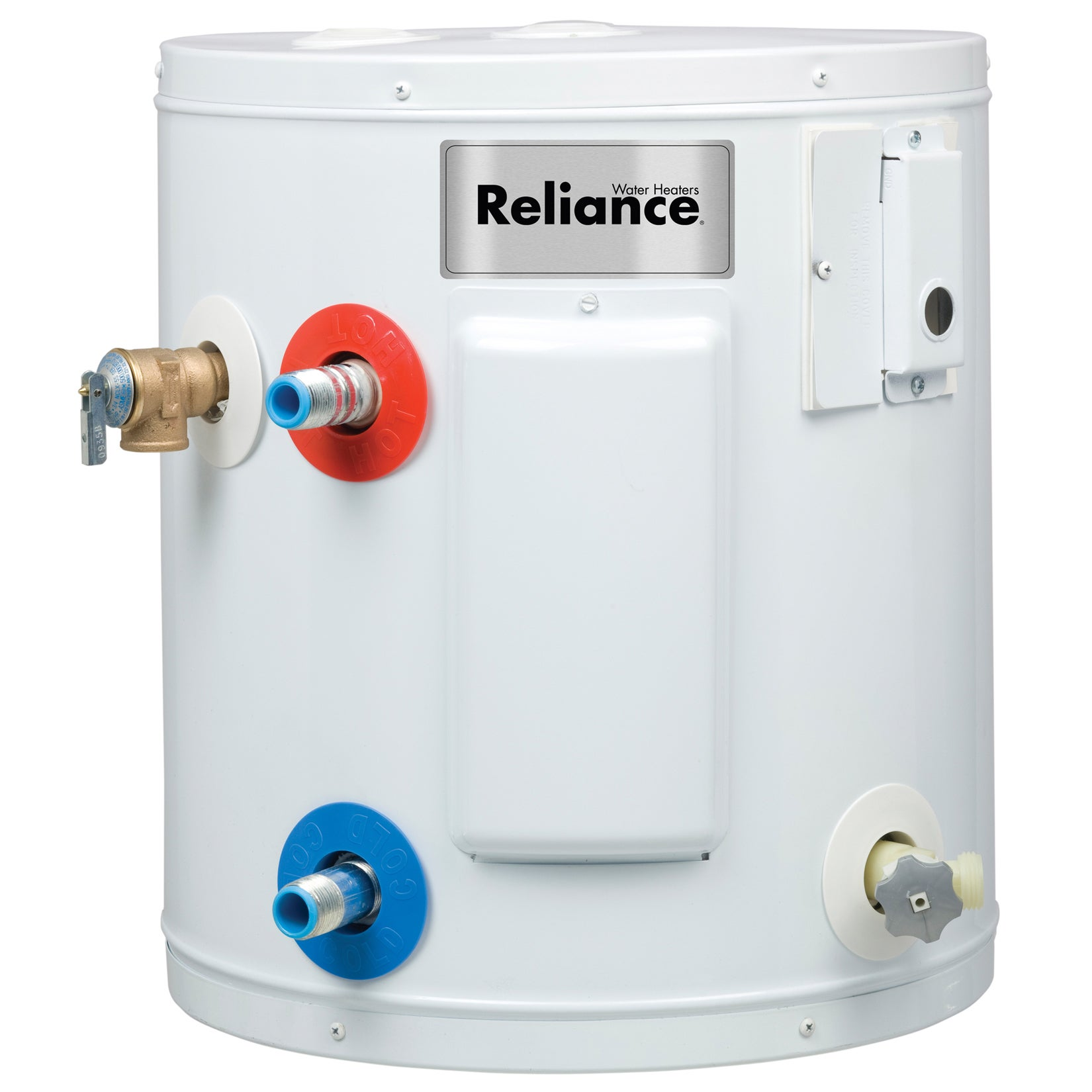 reliance 6 gallon compact electric water heater free shipping