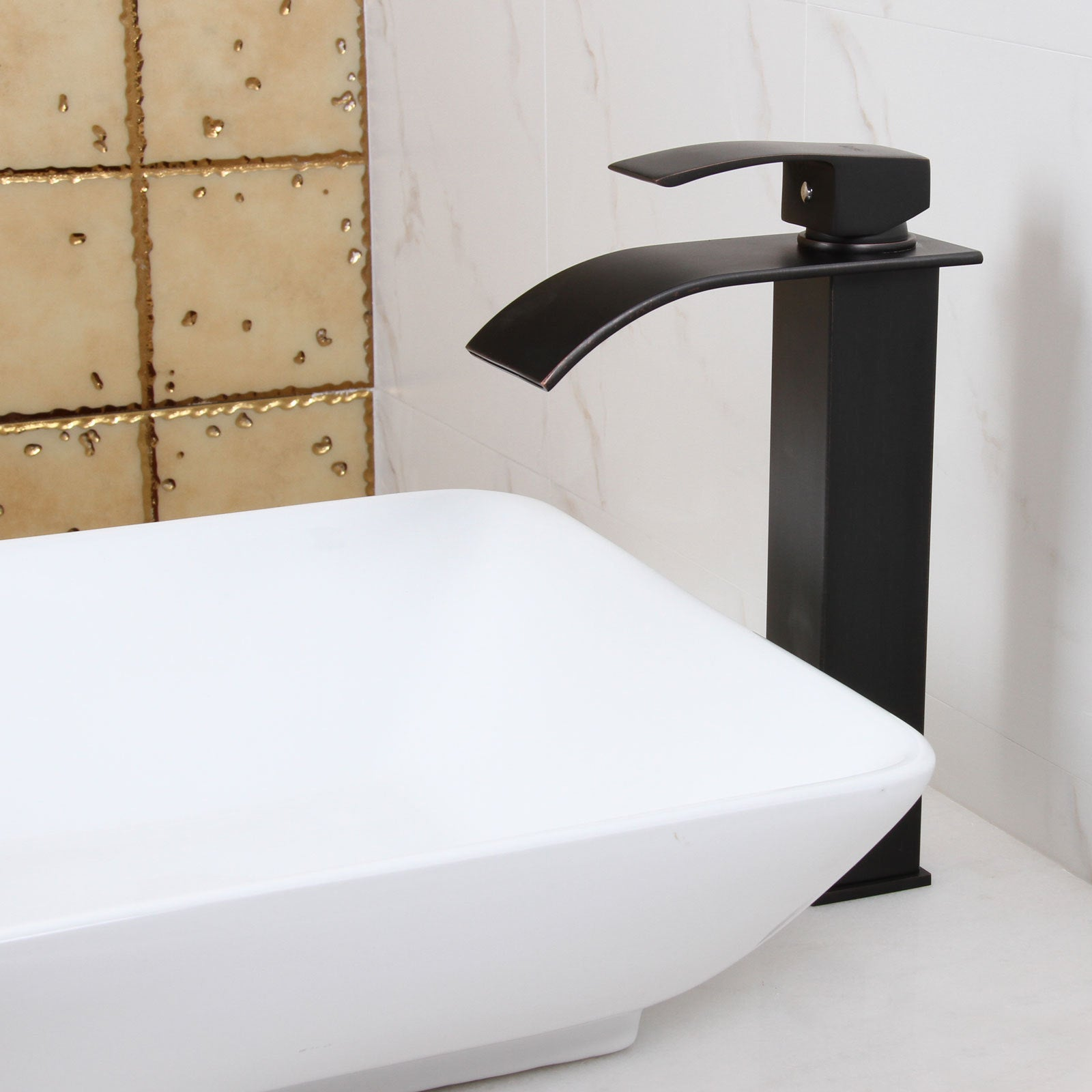 Ordinaire Shop Elite 8804 Single Handle Lever Bathroom Lavatory Faucet   Free  Shipping Today   Overstock.com   13005634
