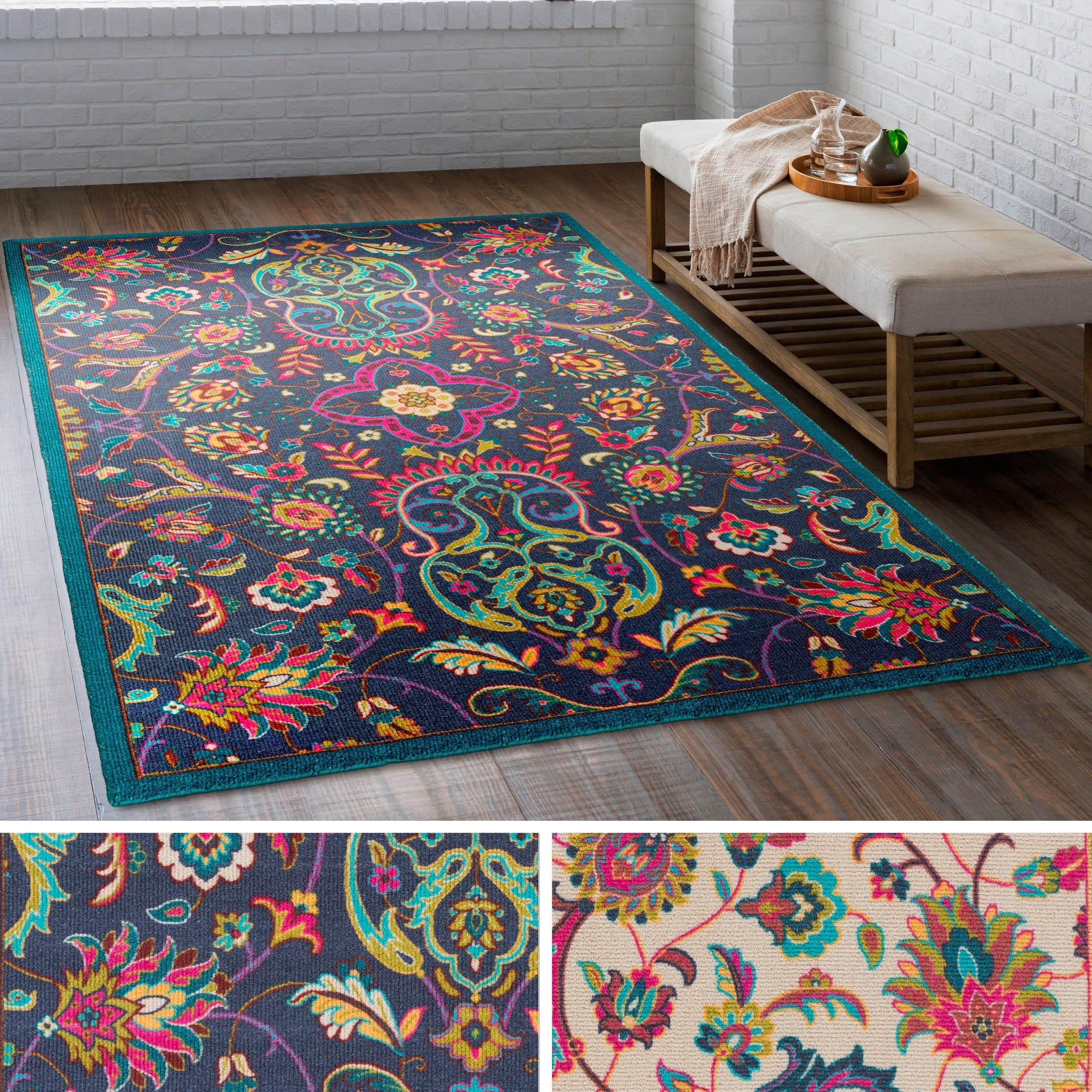 rug faded vintage small dsc carpet ft bohemian x mpw home product