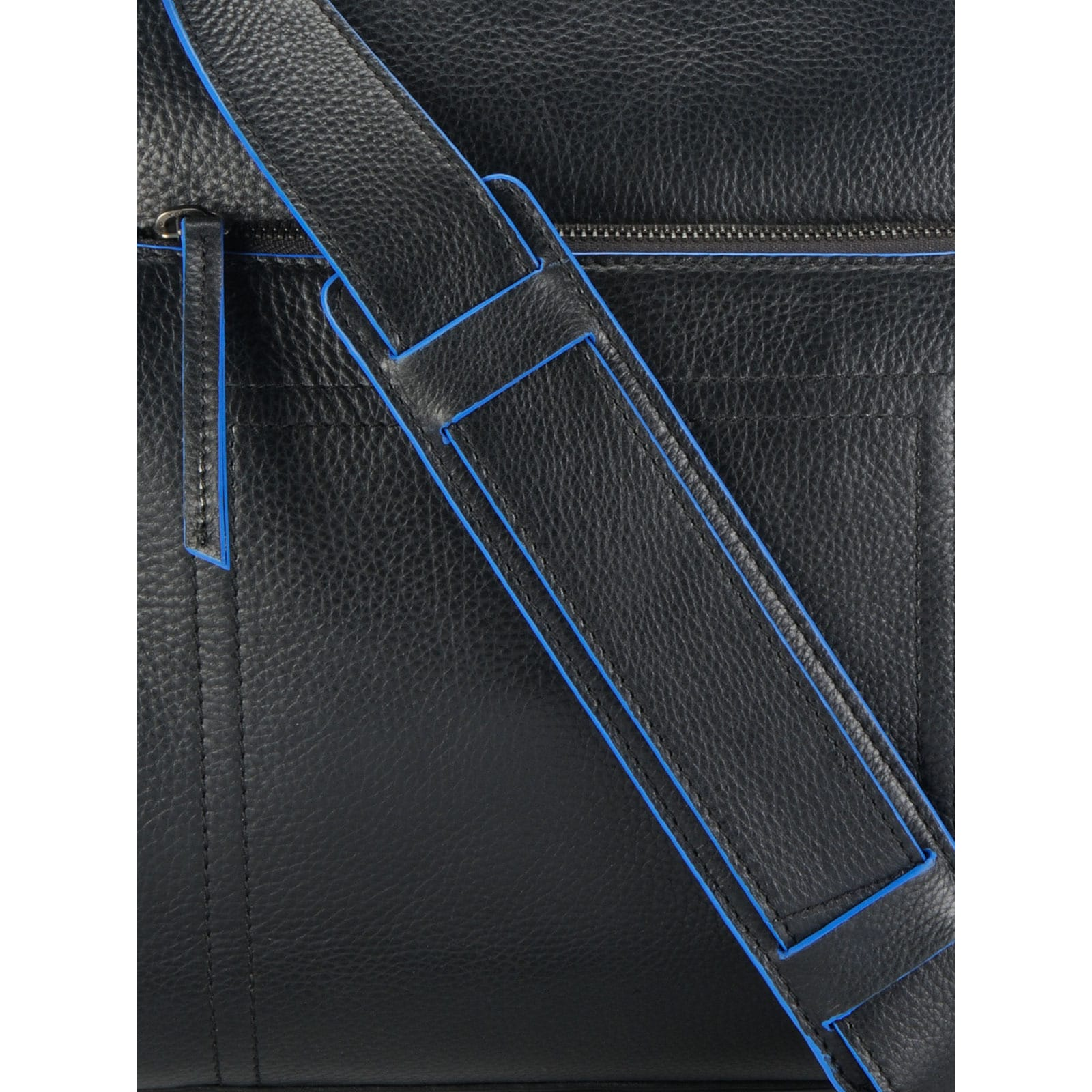 2a8eadee96 Shop Handmade Phive Rivers Leather Messenger Bag (Black) (Italy) - On Sale  - Free Shipping Today - Overstock.com - 13009209