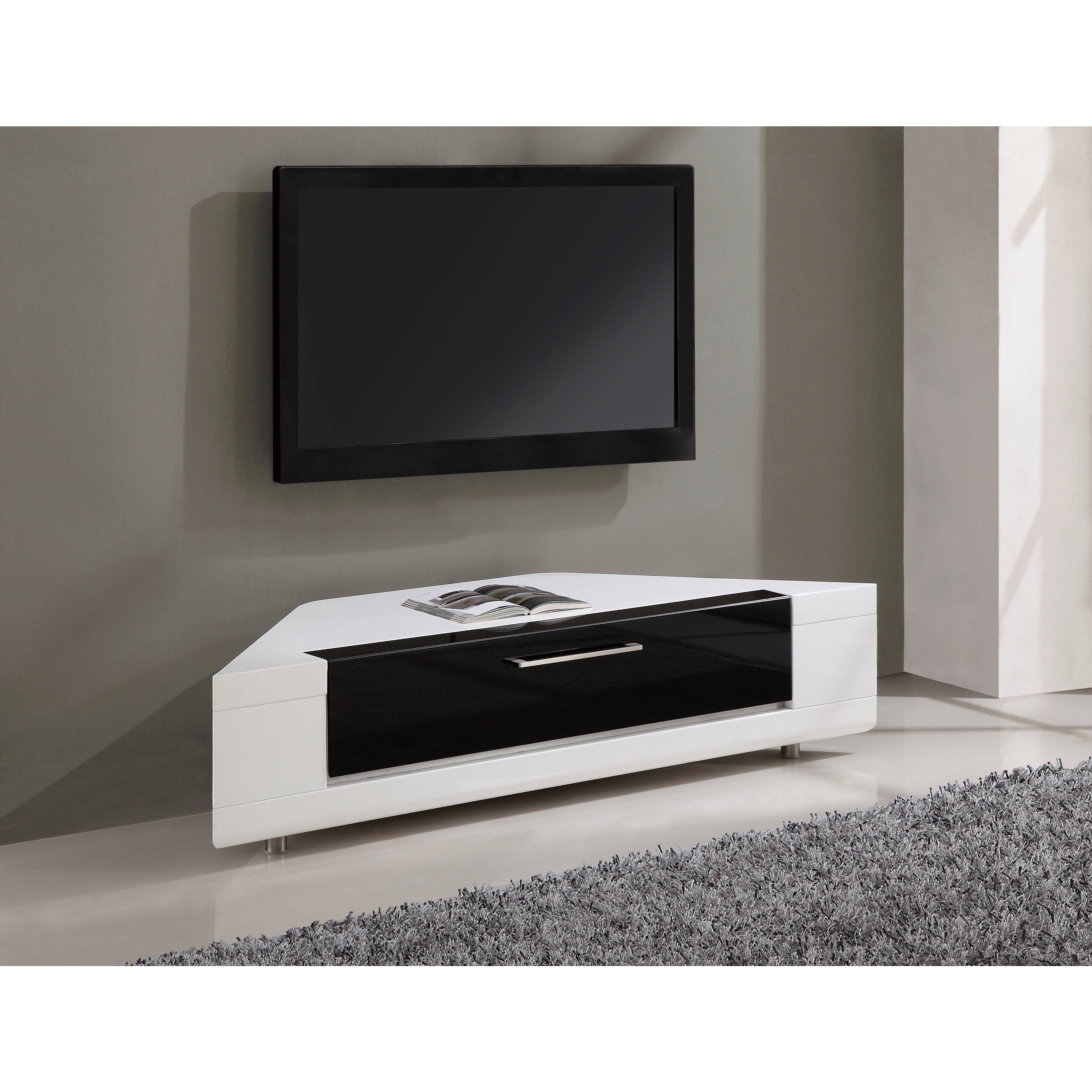compatible furniture. Roma Remix IR-remote Compatible Corner TV Stand - Free Shipping Today Overstock 19753232 Furniture F