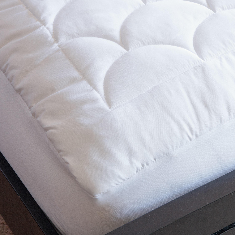 Shop Nikki Chu Water Resistant Mattress Pad White On Sale Free