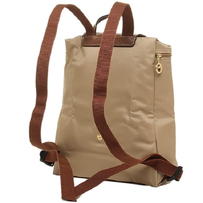 0ca5c5583c08 Shop Longchamp Le Pliage Beige Fashion Backpack - Free Shipping Today -  Overstock - 13029186