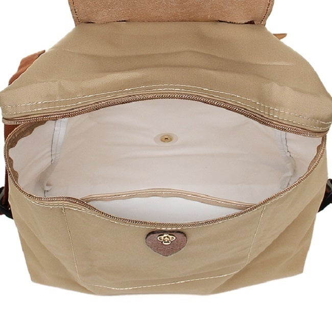 4381041d5c Shop Longchamp Le Pliage Beige Fashion Backpack - Free Shipping Today -  Overstock - 13029186