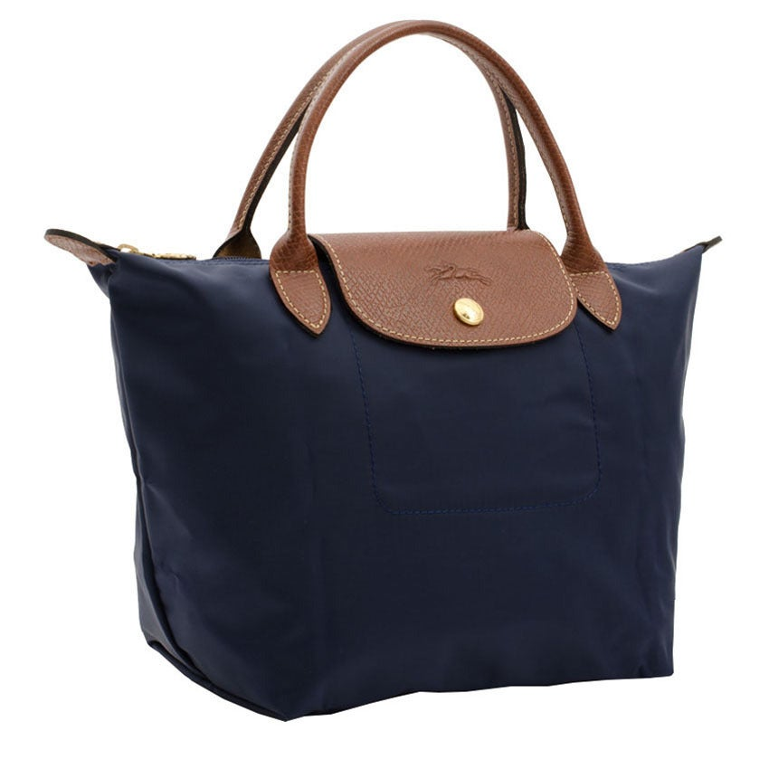 Longchamp Le Pliage Navy Nylon And Leather Fashion Backpack Free Shipping Today 13029196