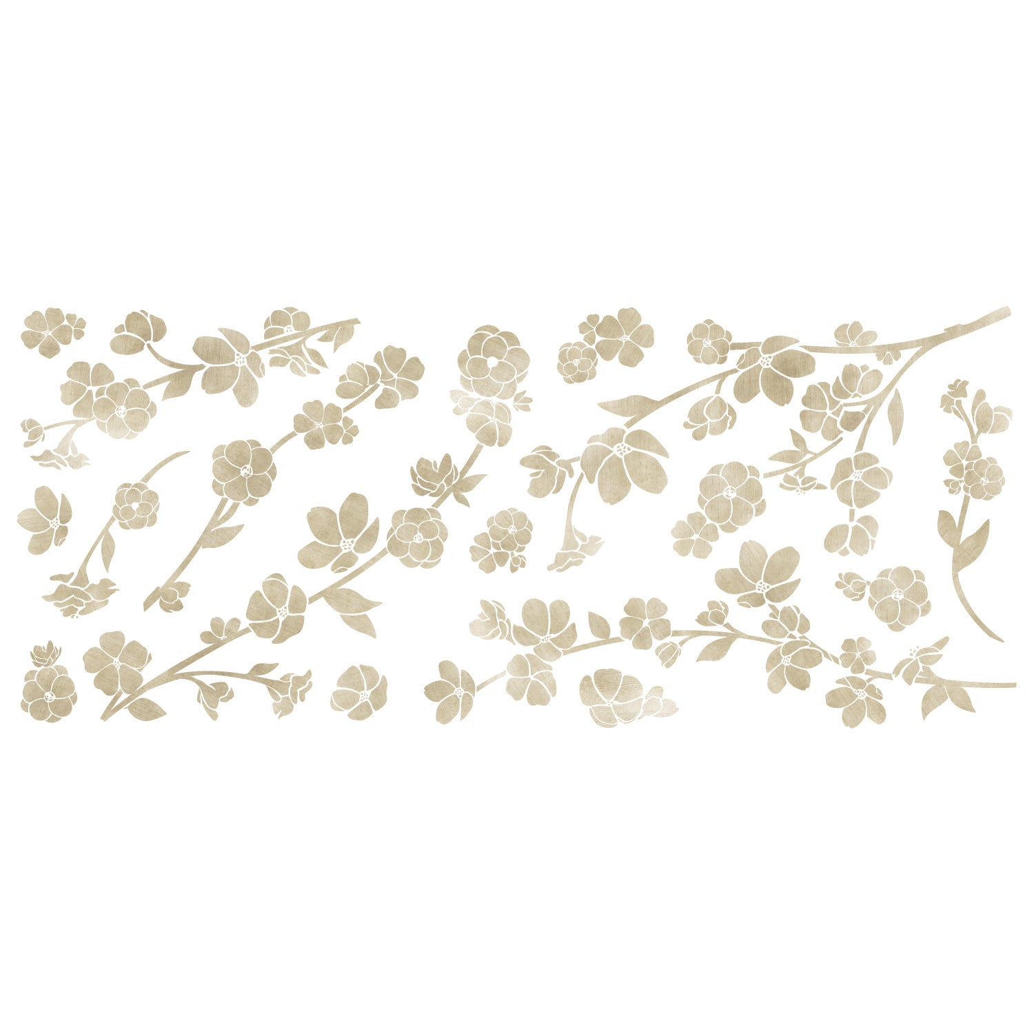 7609ec765 Shop Roommates Floral Blossom with 3D Flower Embellishments Giant Peel and Stick  Wall Decals - Free Shipping On Orders Over  45 - Overstock - 13042848