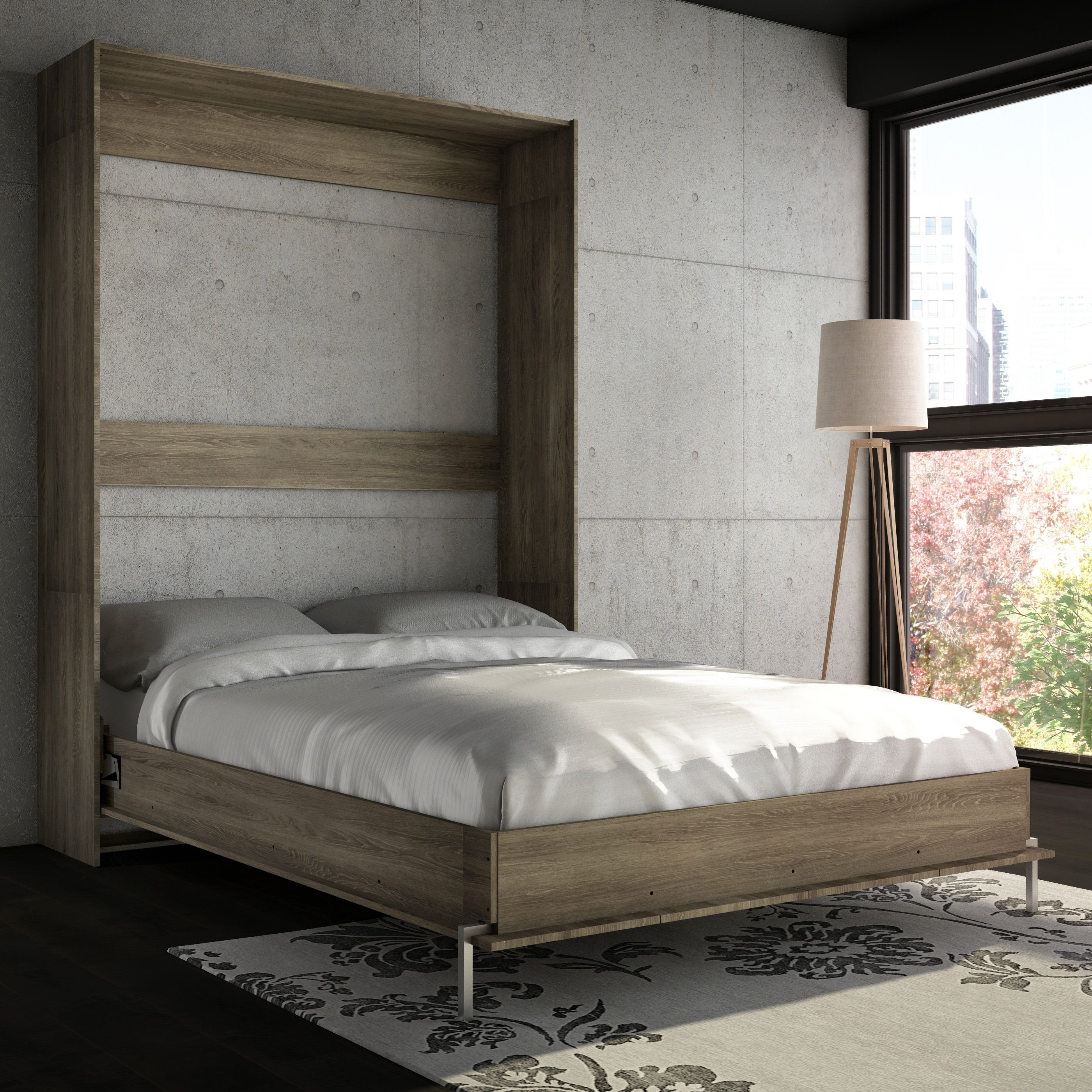 Stellar Home Furniture Queen Wall Bed Free Shipping Today