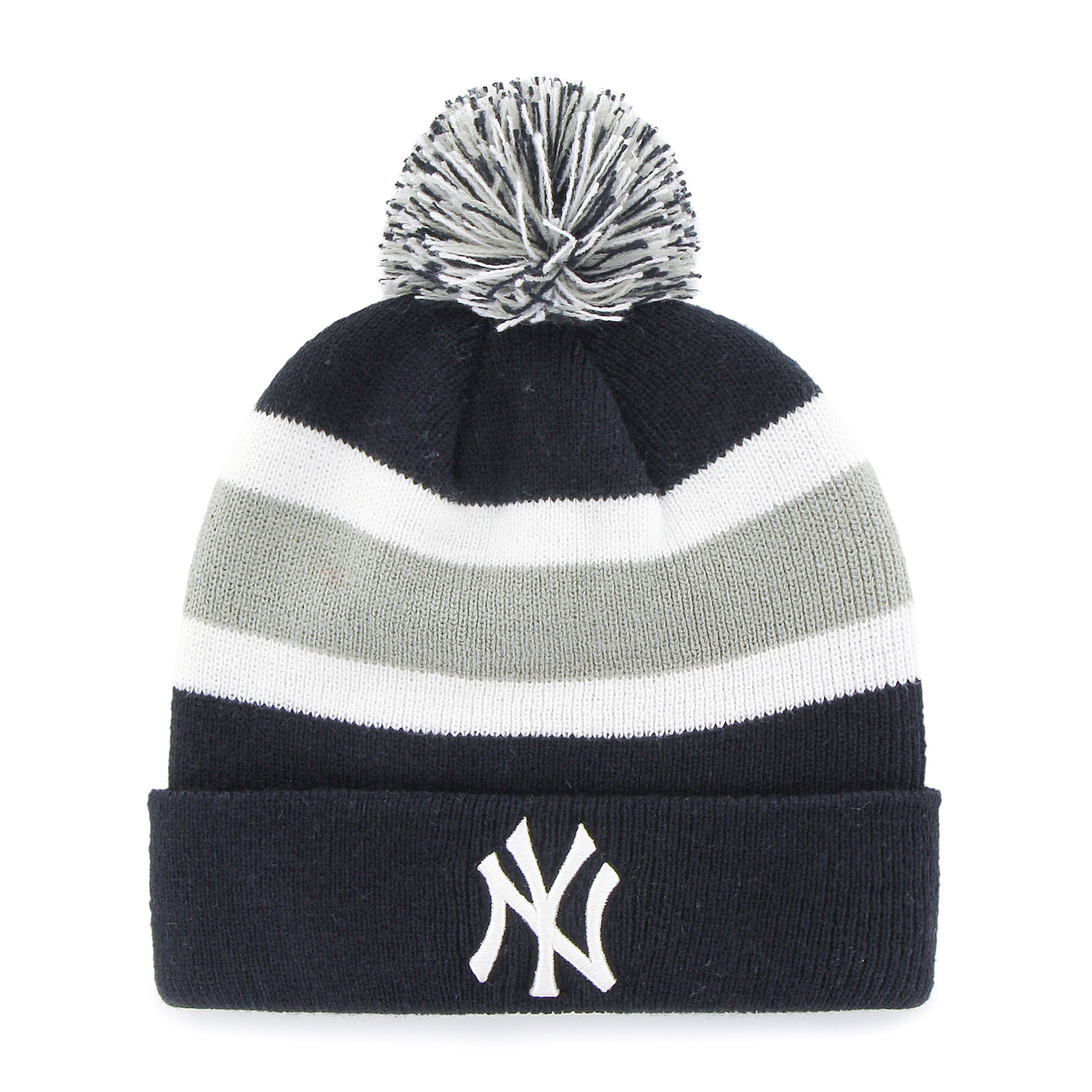 Shop New York Yankees MLB Knit Beanie - Free Shipping On Orders Over  45 -  Overstock.com - 13056007 1e55d57db02