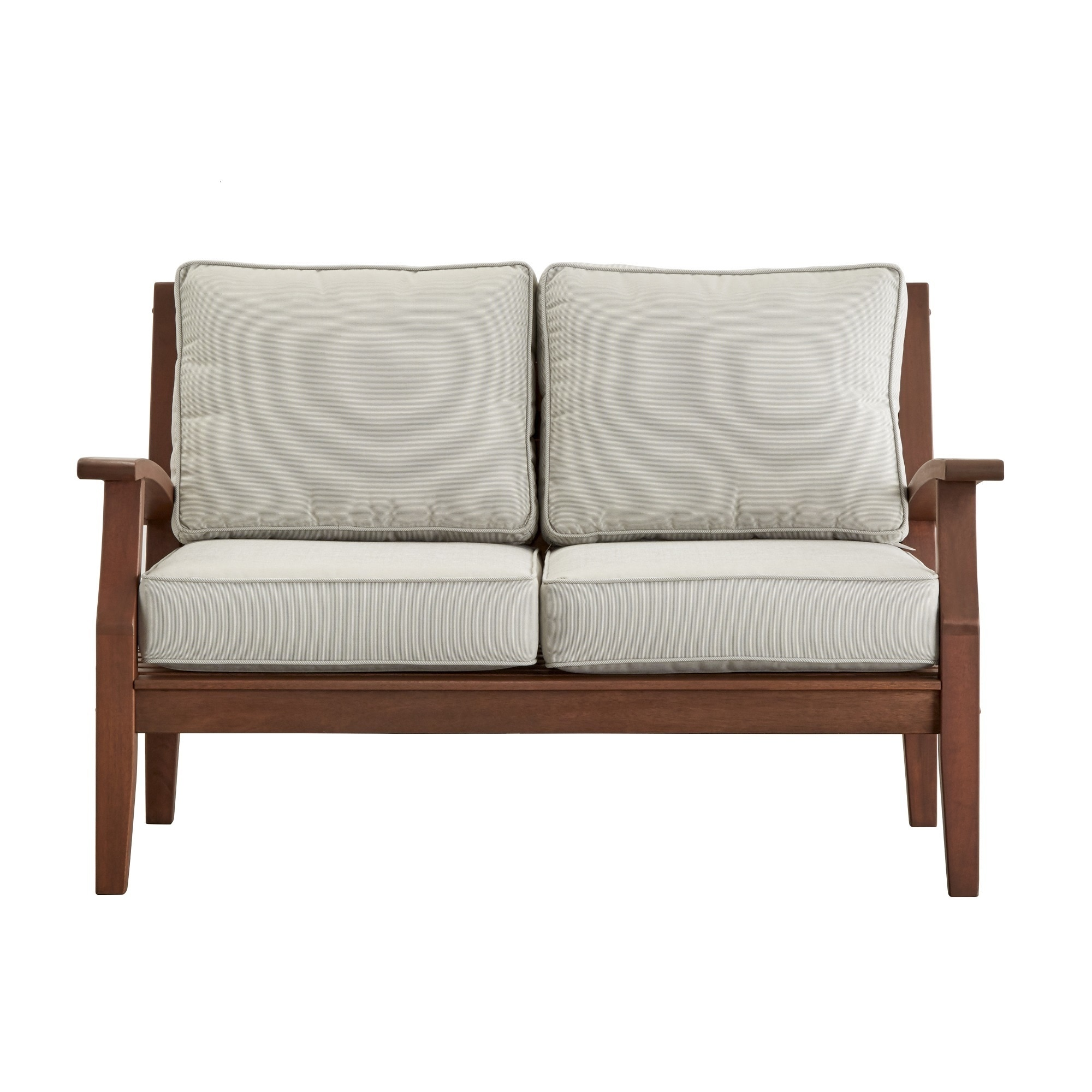 place wood front furniture loveseat bomber and products my sofa chocolate