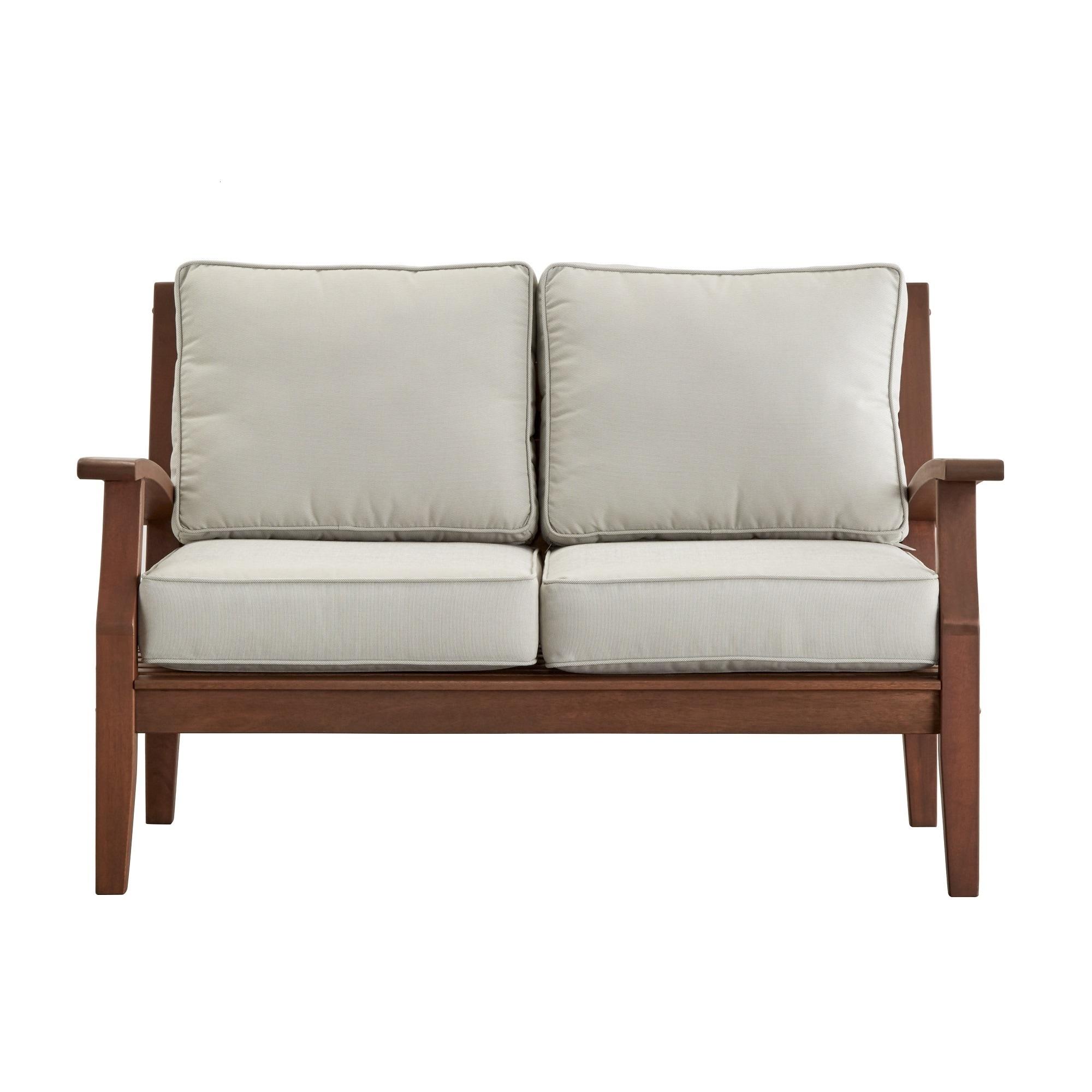 microfiber trim hm ebay room couch sofa living ims wood set celio furniture brown itm loveseat