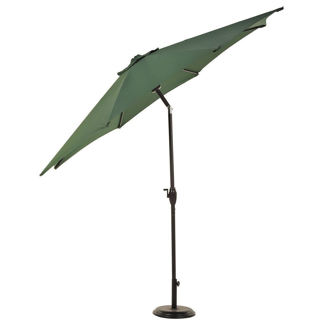 Grand Patio 9 Foot Outdoor Aluminum Market Umbrella With Auto Tilt And Crank 8 Ribs Free Shipping Today 13059273