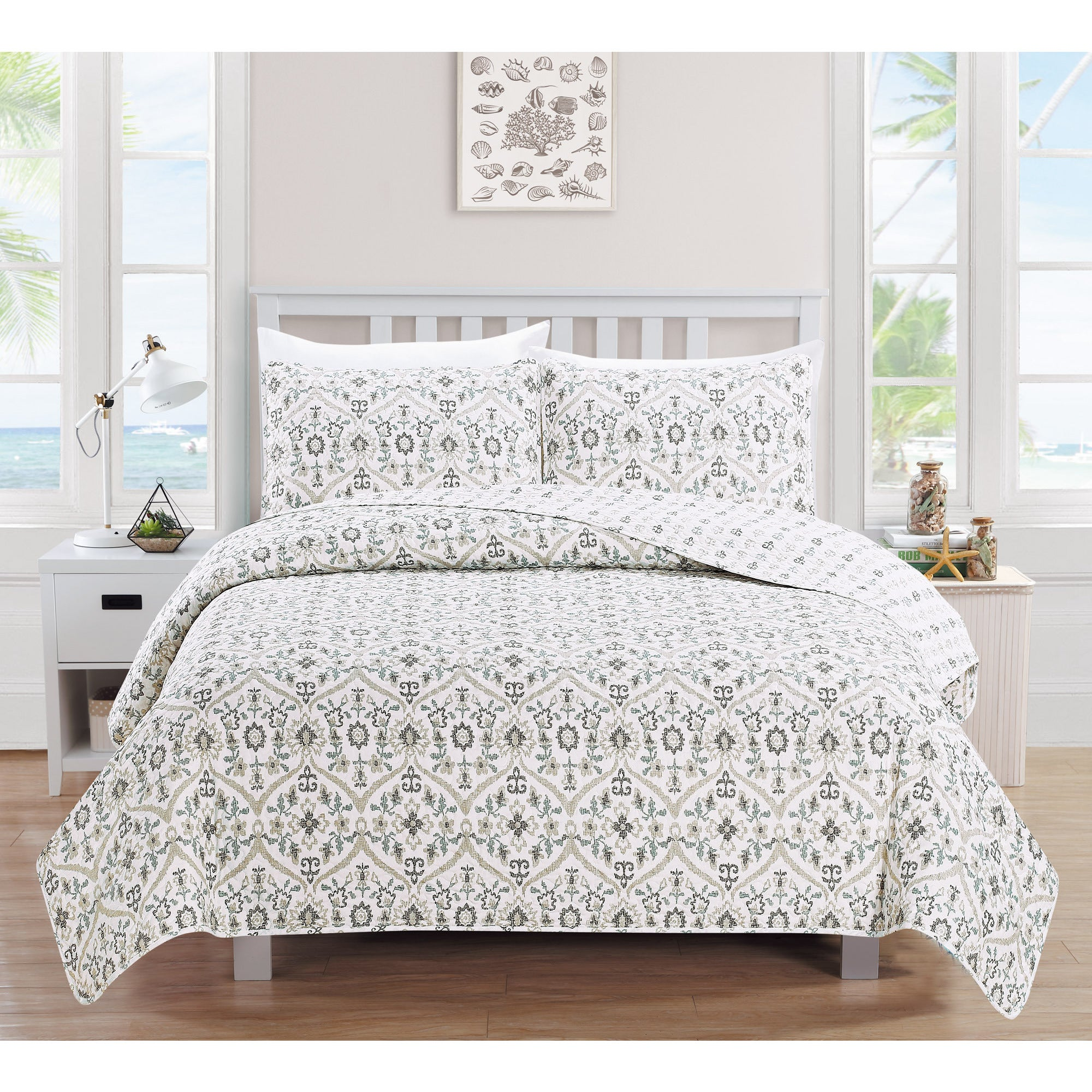 Candra Collection 3 Piece Quilt Set Free Shipping On Orders Over 45 13085879