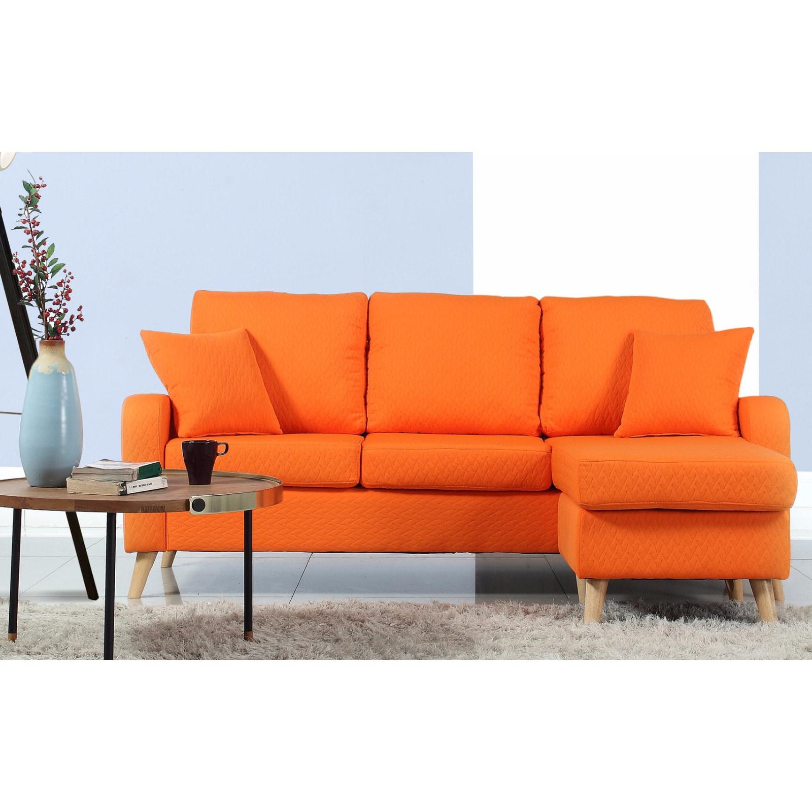 sectional facing interior scott uk orange inspiration velvet sofas home living right seater end burnt sofa chaise elegant hand room design