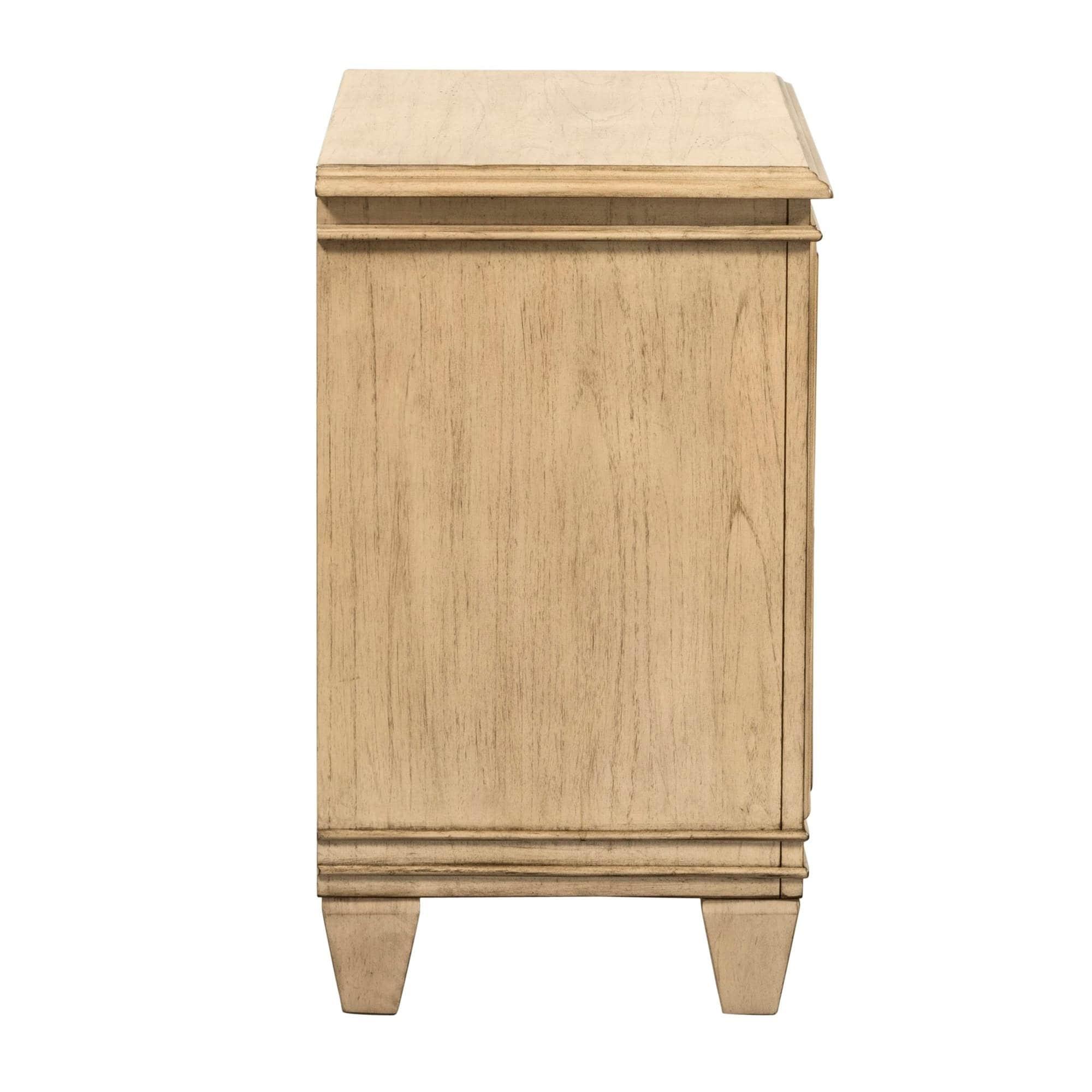 Grayton Grove Driftwood 2-Drawer Nightstand