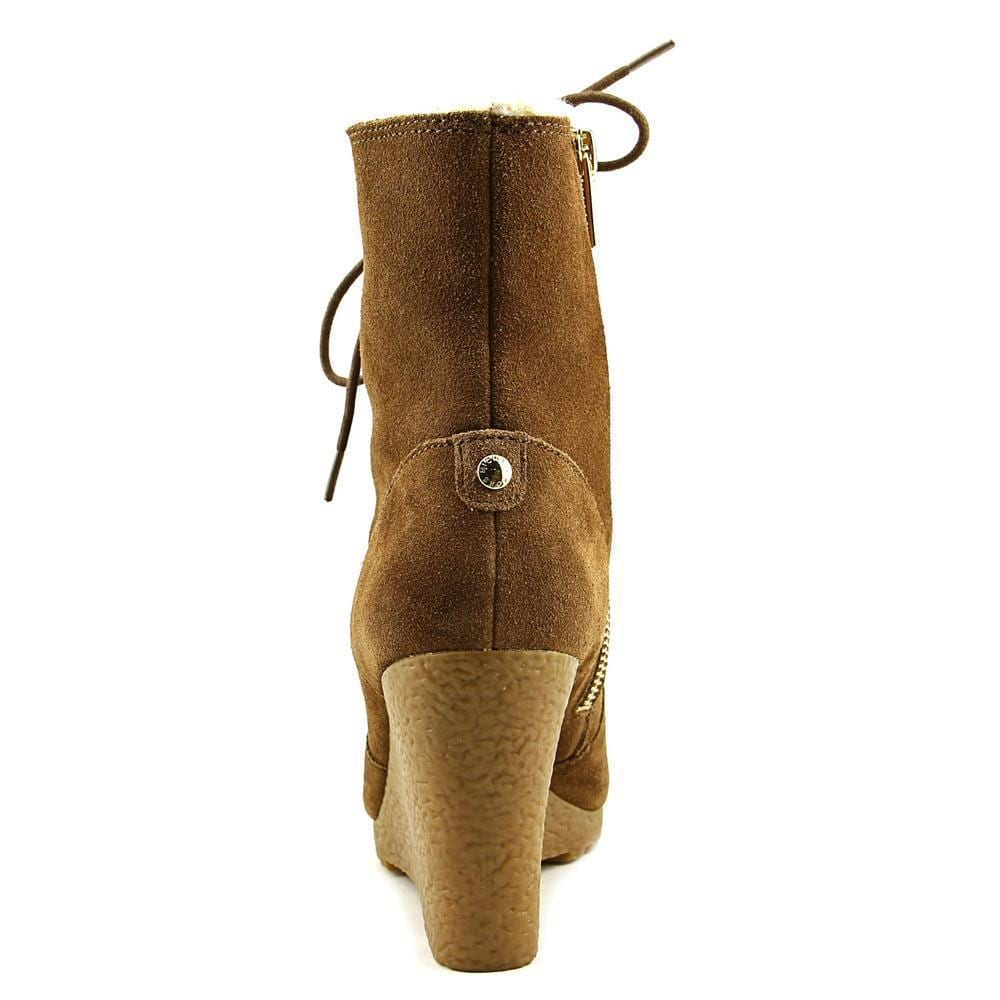 64aaba2438b7 Shop Michael Michael Kors Women s  Rory Bootie  Brown Suede Boots - Free  Shipping Today - Overstock.com - 13097103