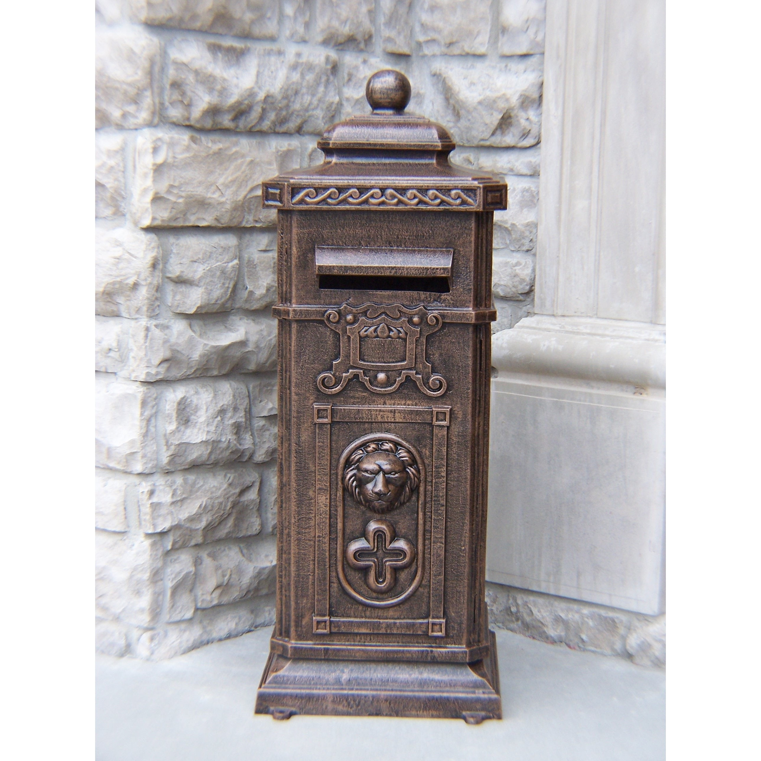victorian pinterest items cap cedar with post pedestal colonial pin mailbox specialty