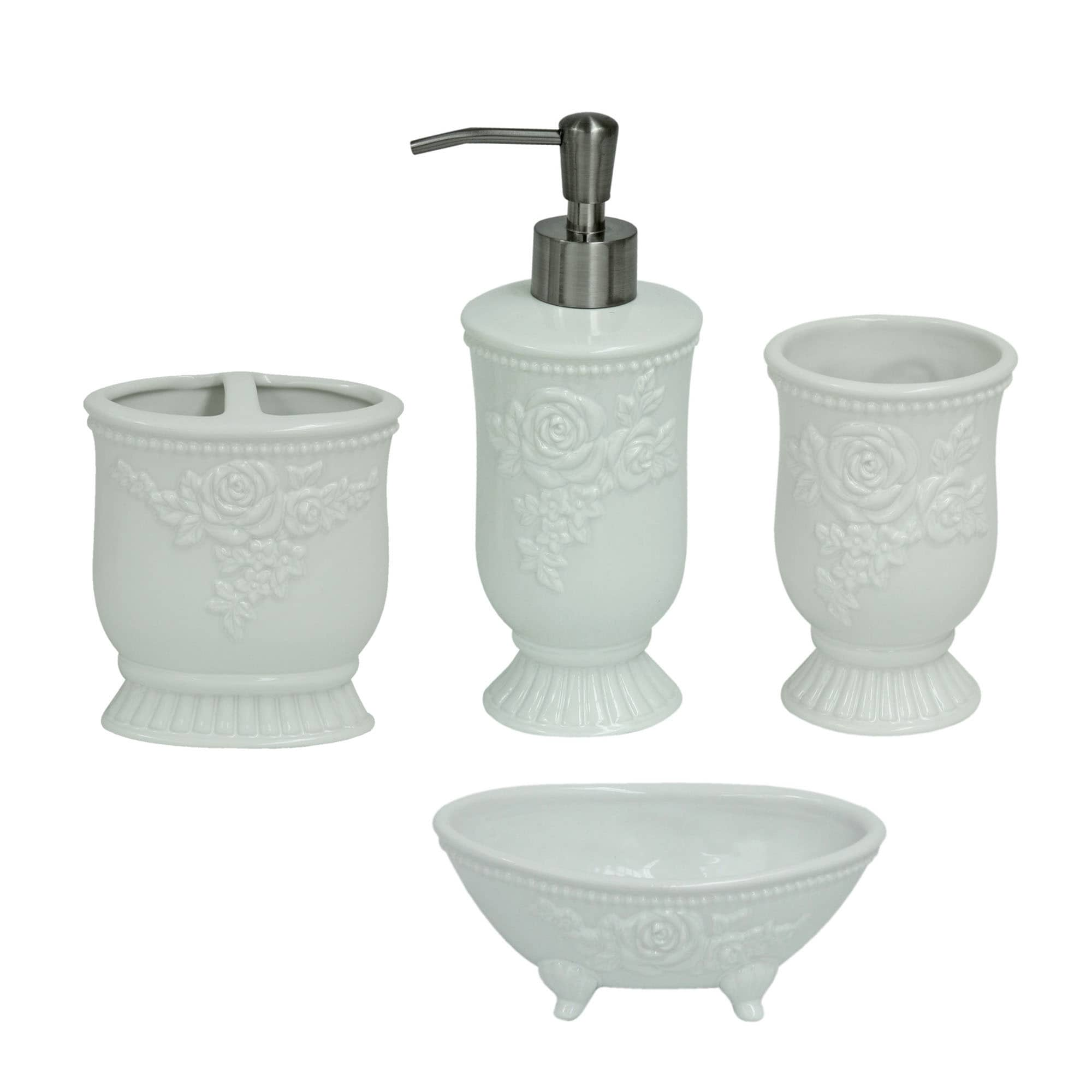 Jessica Simpson Ellie Bathroom Accessory Collection - Free Shipping ...