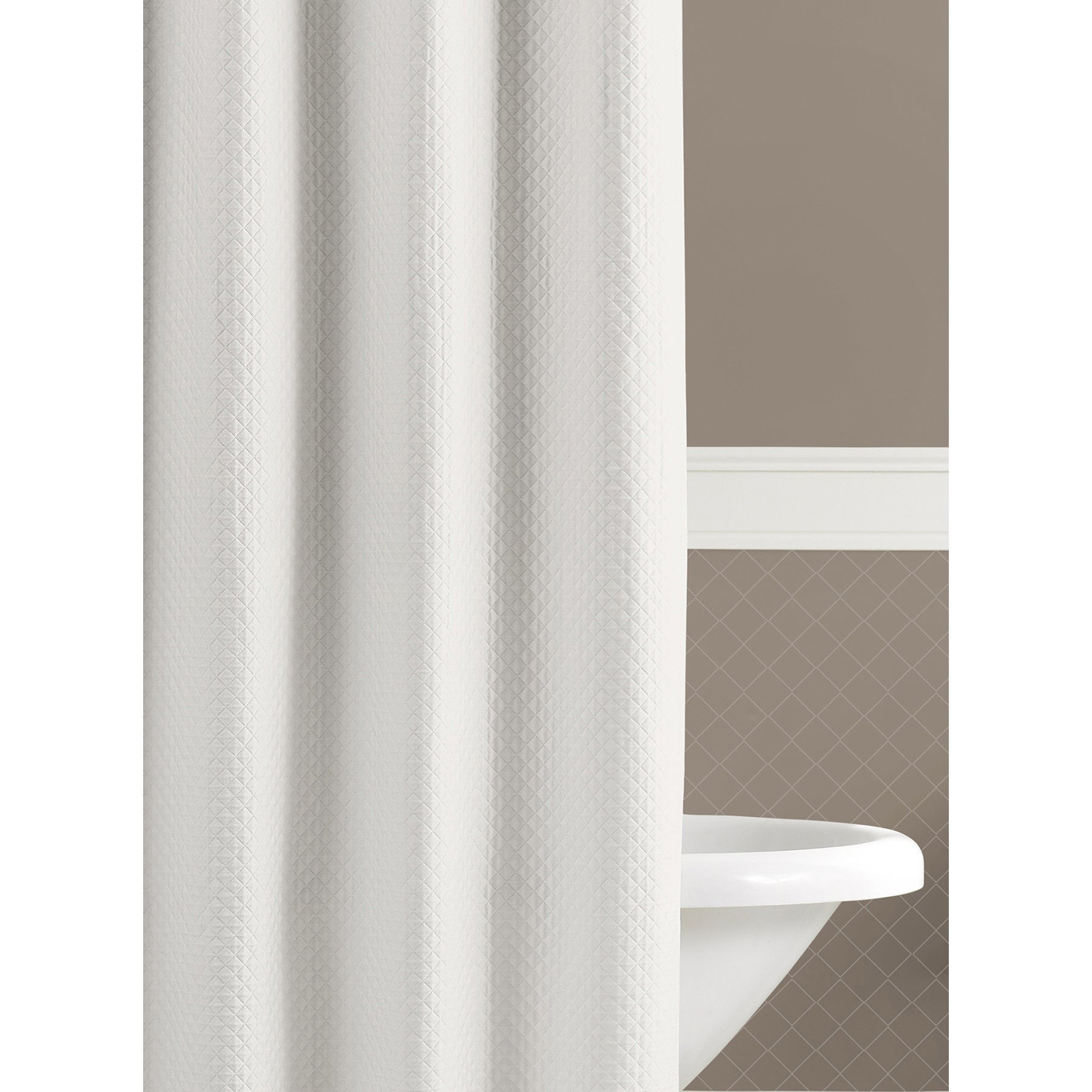 Lamont Home Diamante Extra Long Shower Curtain Free Shipping Today 13113430