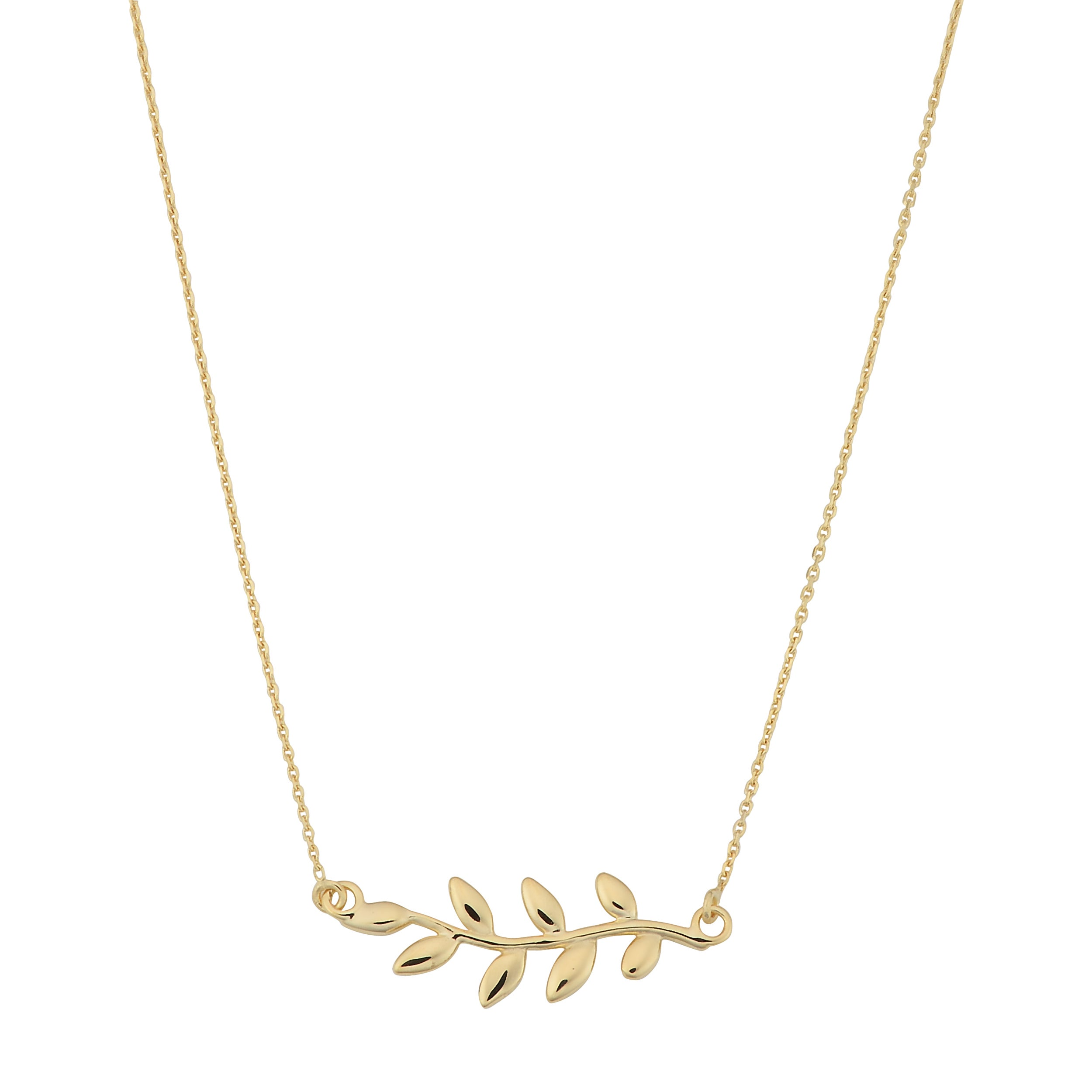 olive initial zoom necklace minitials token product in branch