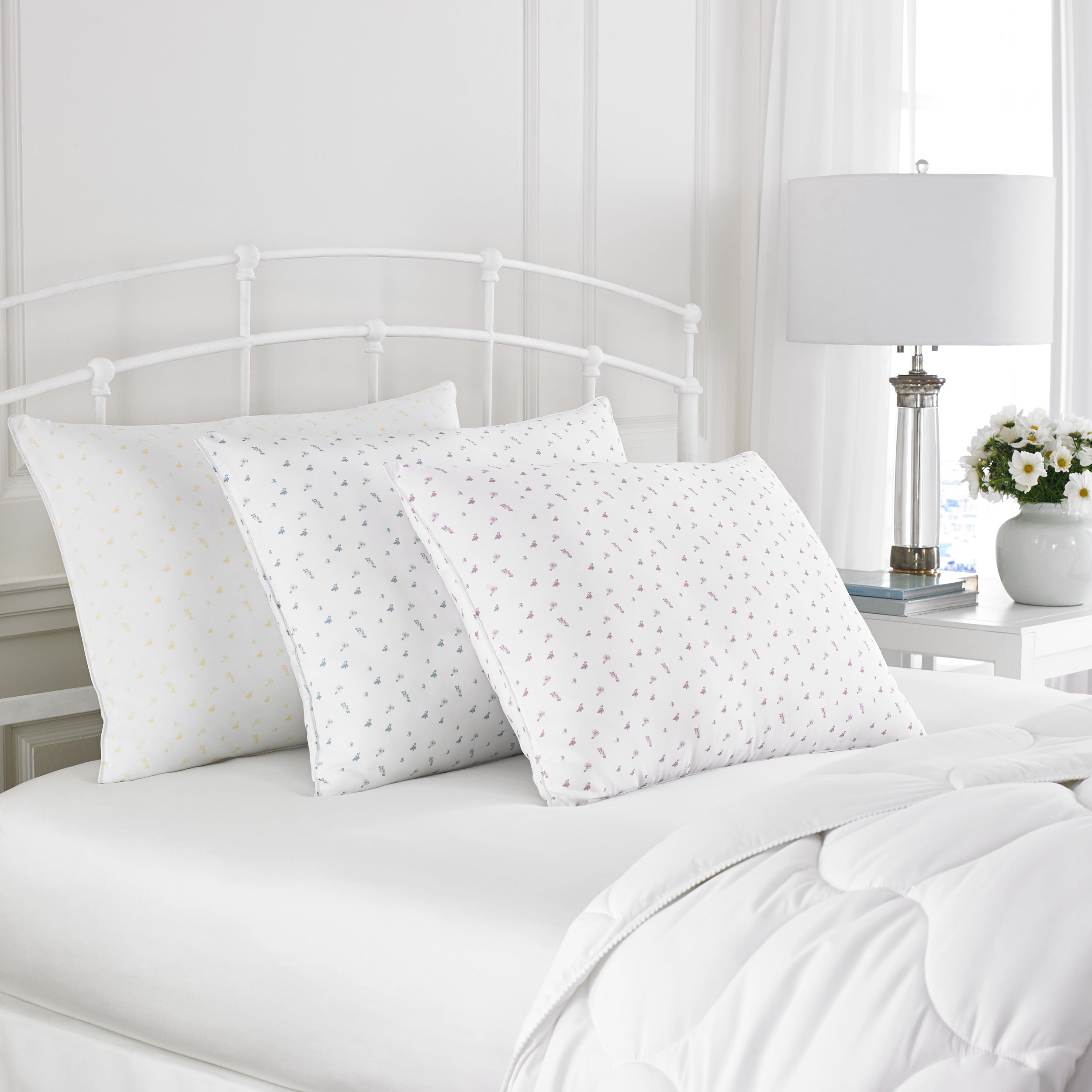 the eco woolly organic to products or of img view cotton copy shown natural height down our on bed a fullness wool puffs pillow