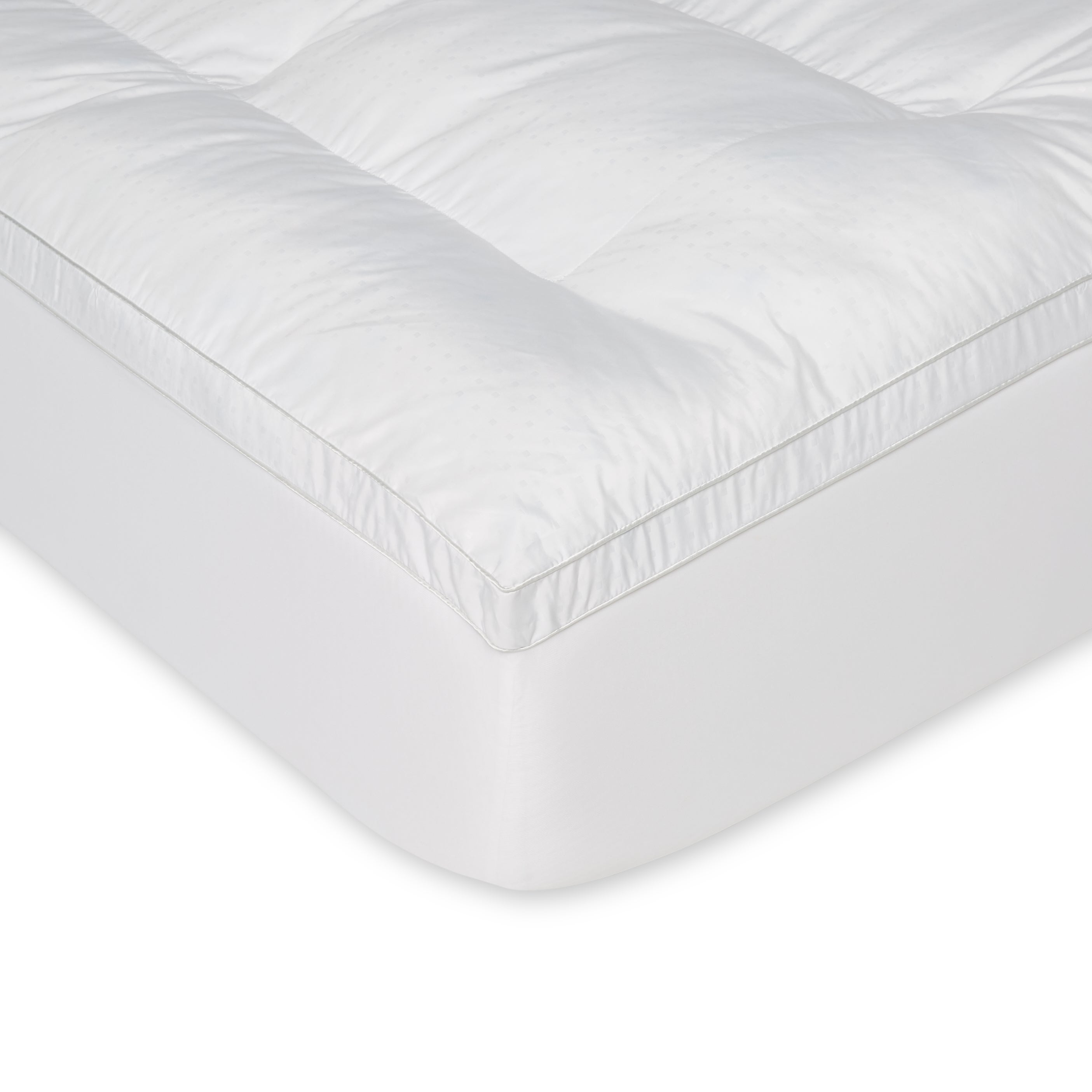 fiber set cover shipping memory bedding gel and slumber topper mattress today overstock solutions filled product free bath foam