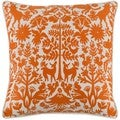 Decorative Rodez 18-inch Down or Poly Filled Throw Pillow
