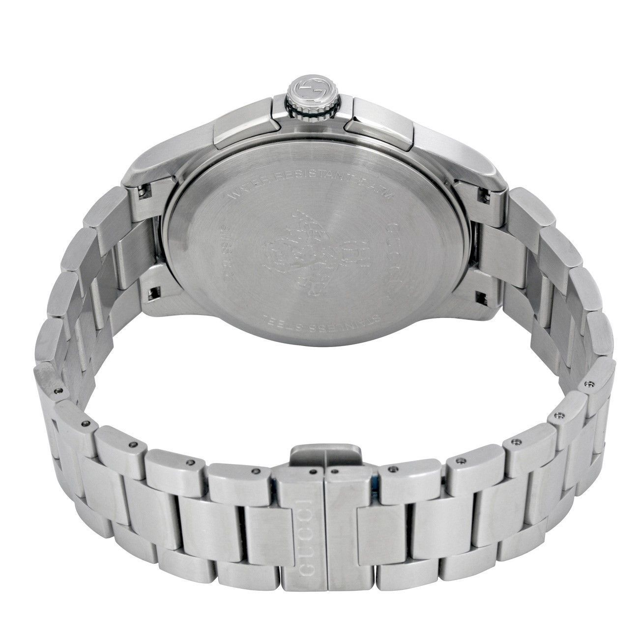 7d70c38b7df Shop Gucci Men s YA126267  G-Timeless  Stainless Steel Watch - silver -  Free Shipping Today - Overstock - 13150287