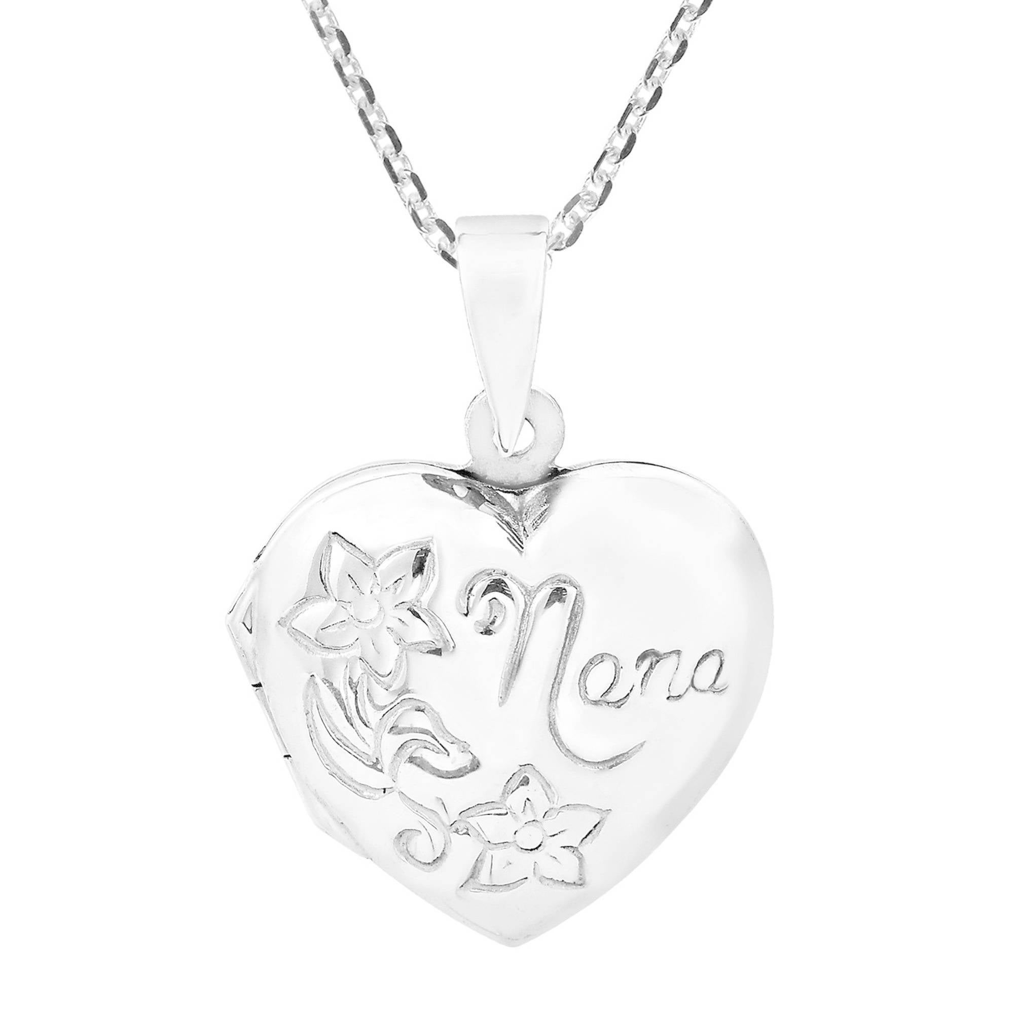 gift listing silver grandkids sterling necklace nana for fullxfull heart love grandma charm il dainty from