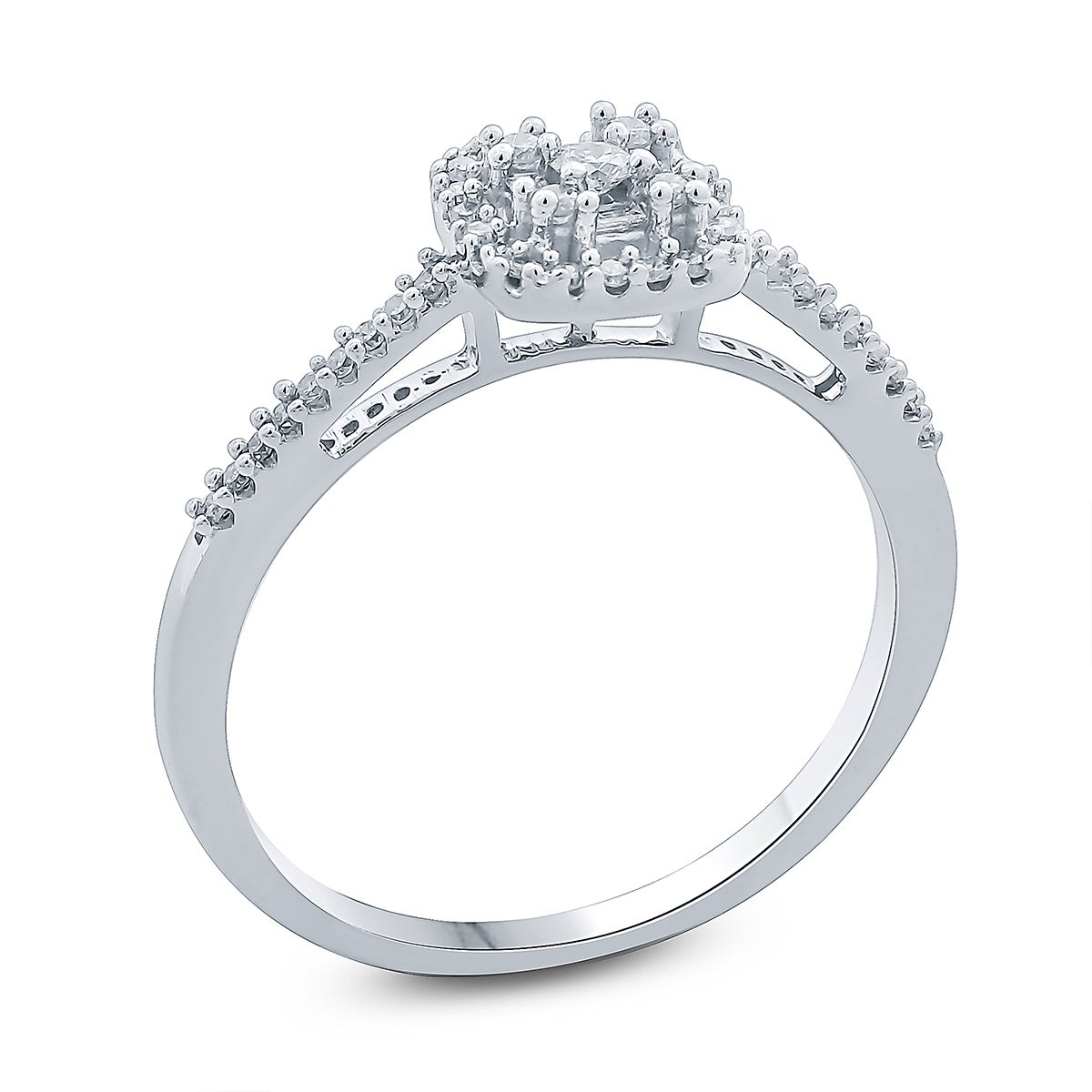 wedding image brilliant jewellery ring platinum diamond cut round rings square cluster clusters