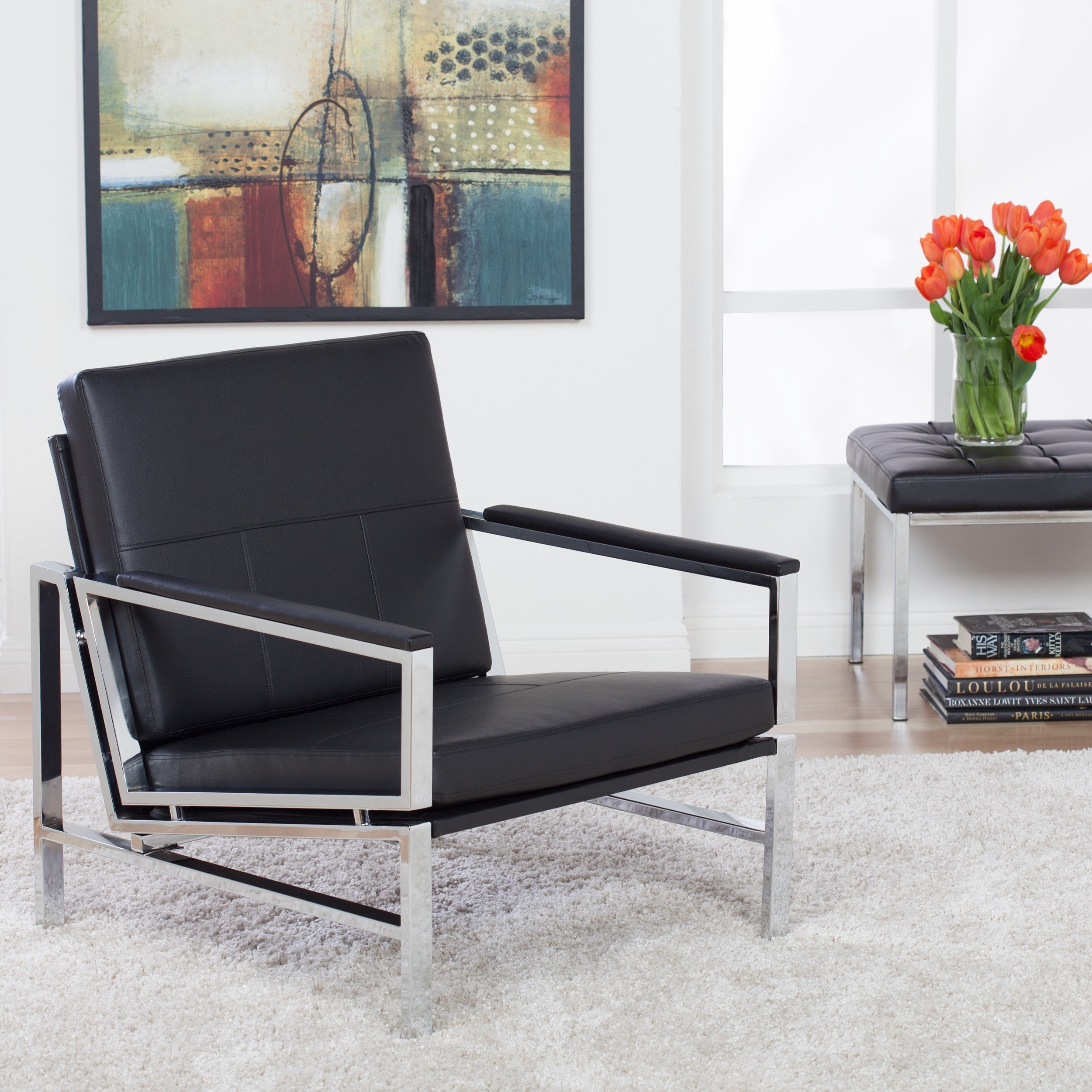 Studio Designs Home Atlas Leather Chair