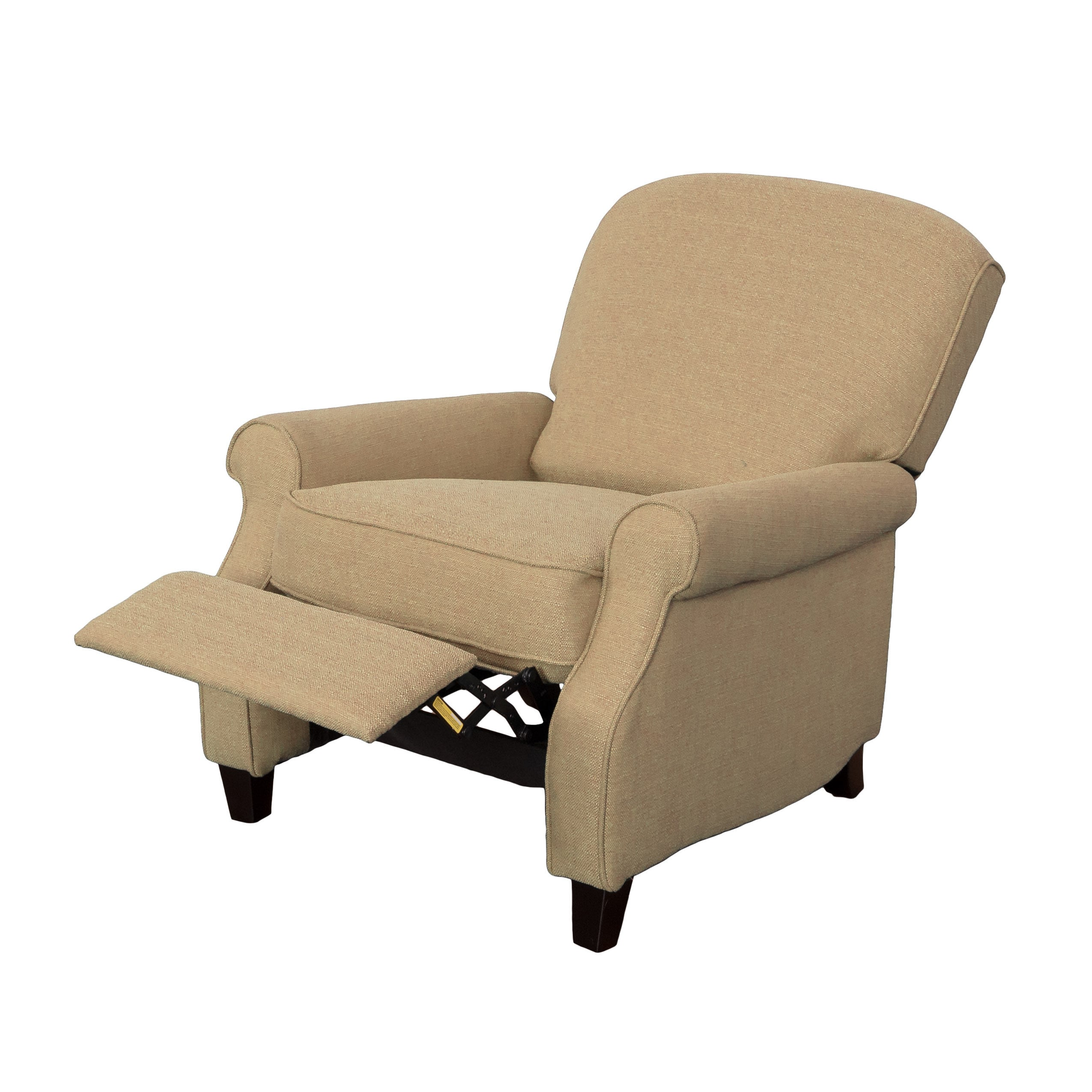 CorLiving Noah Linen Fabric Recliner Armchair   Free Shipping Today    Overstock   19889707