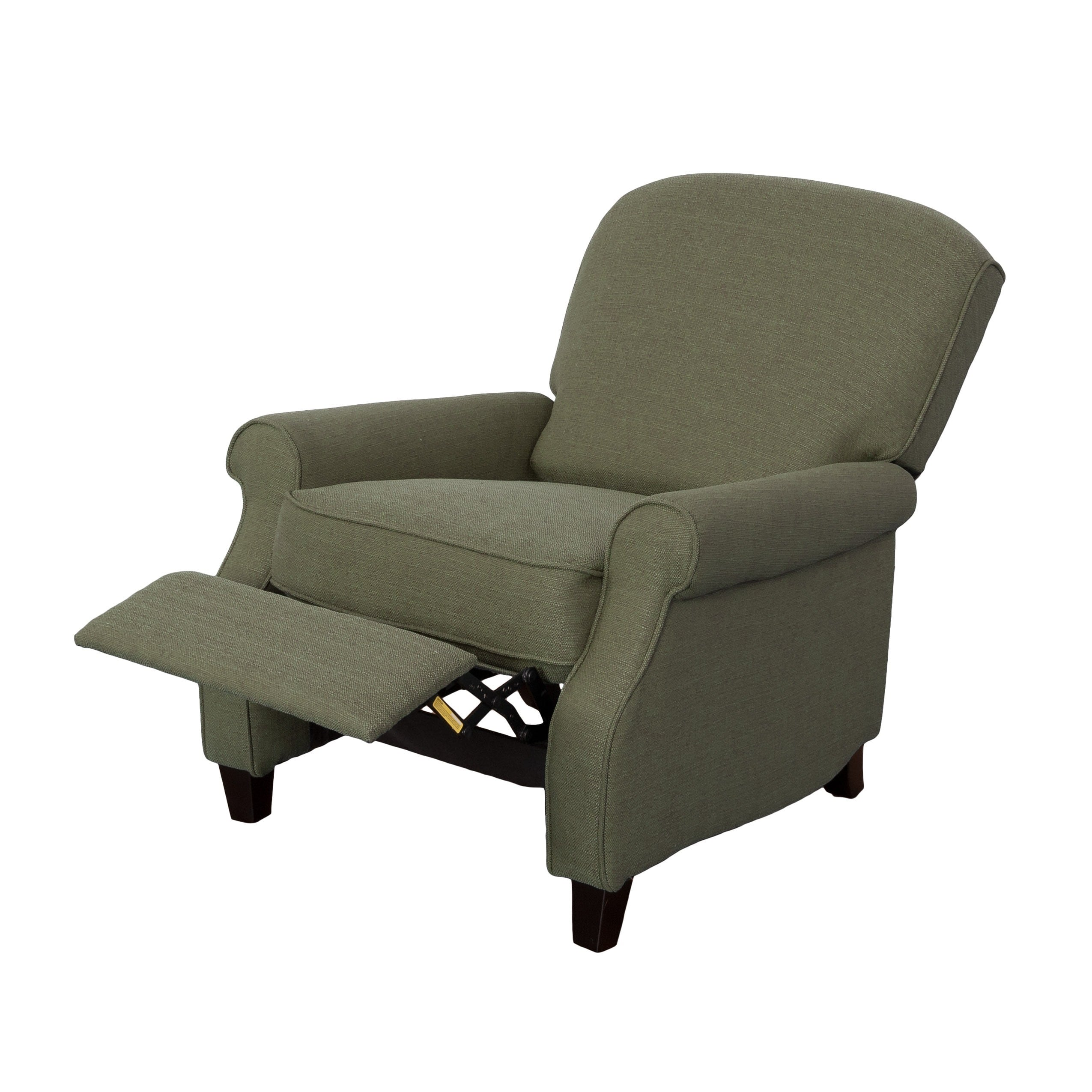 Shop CorLiving Noah Linen Fabric Recliner Armchair   Free Shipping Today    Overstock.com   13164458