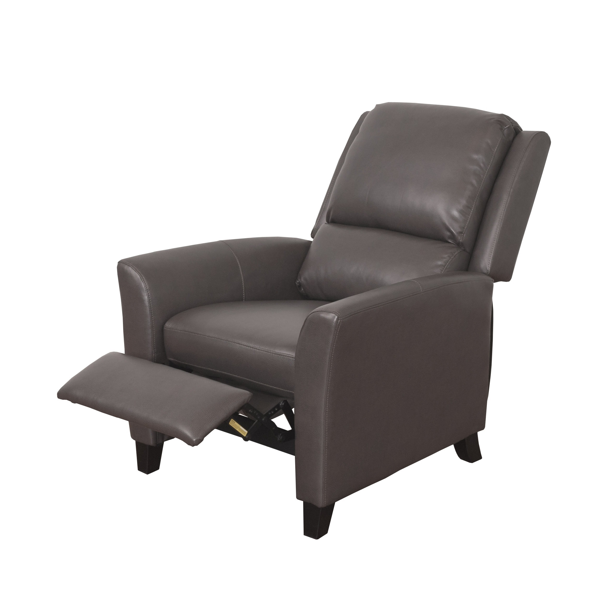 Delightful CorLiving Kate Bonded Leather Reclining Armchair   Free Shipping Today    Overstock   19889710